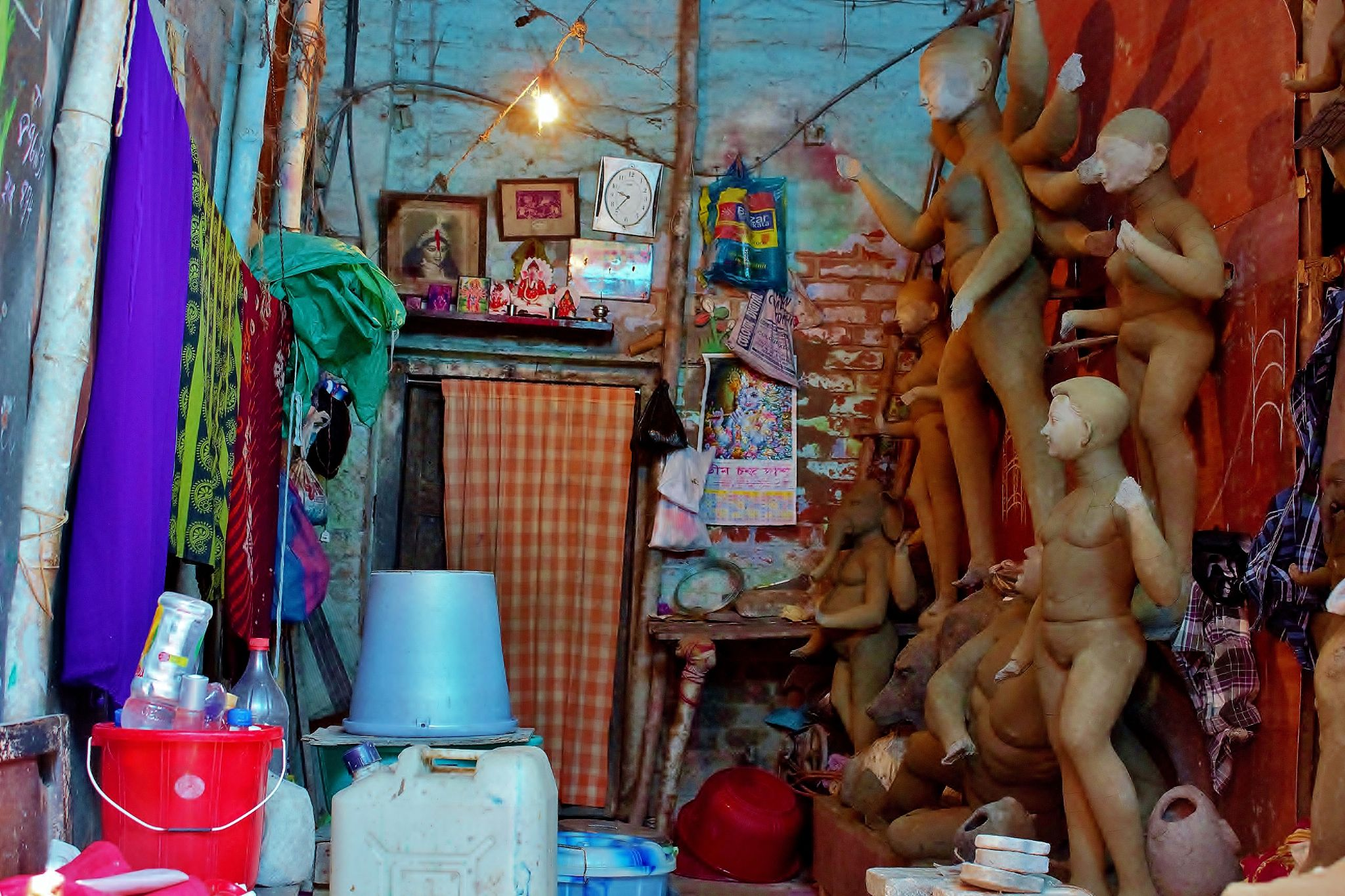 all in a small room by Shuvarthy Chowdhury