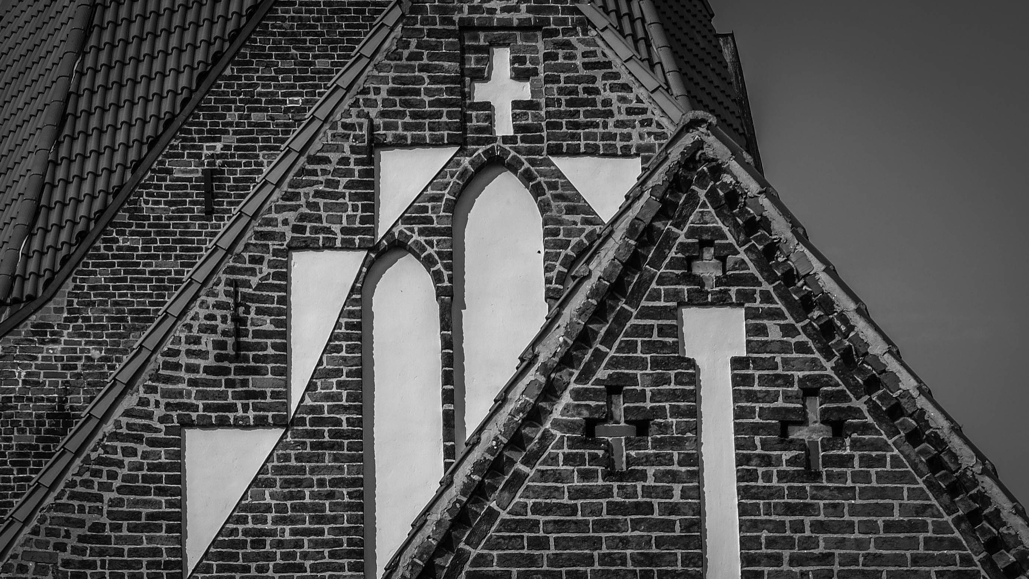 sight of a church by Aaron Dannenberg