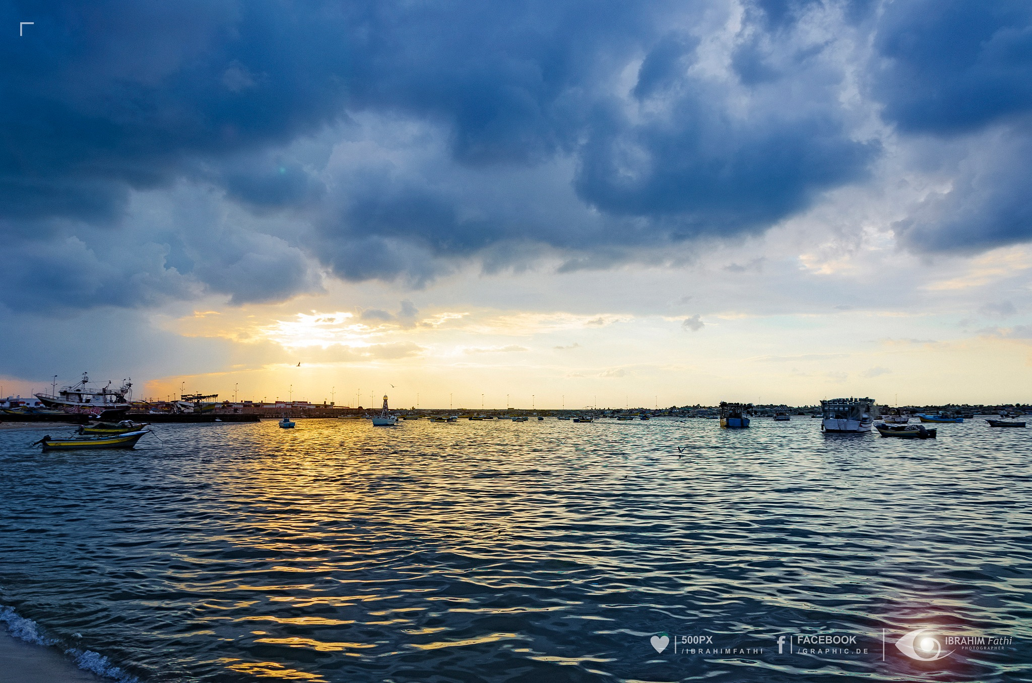 Port of Gaza by Ibrahim Fathi