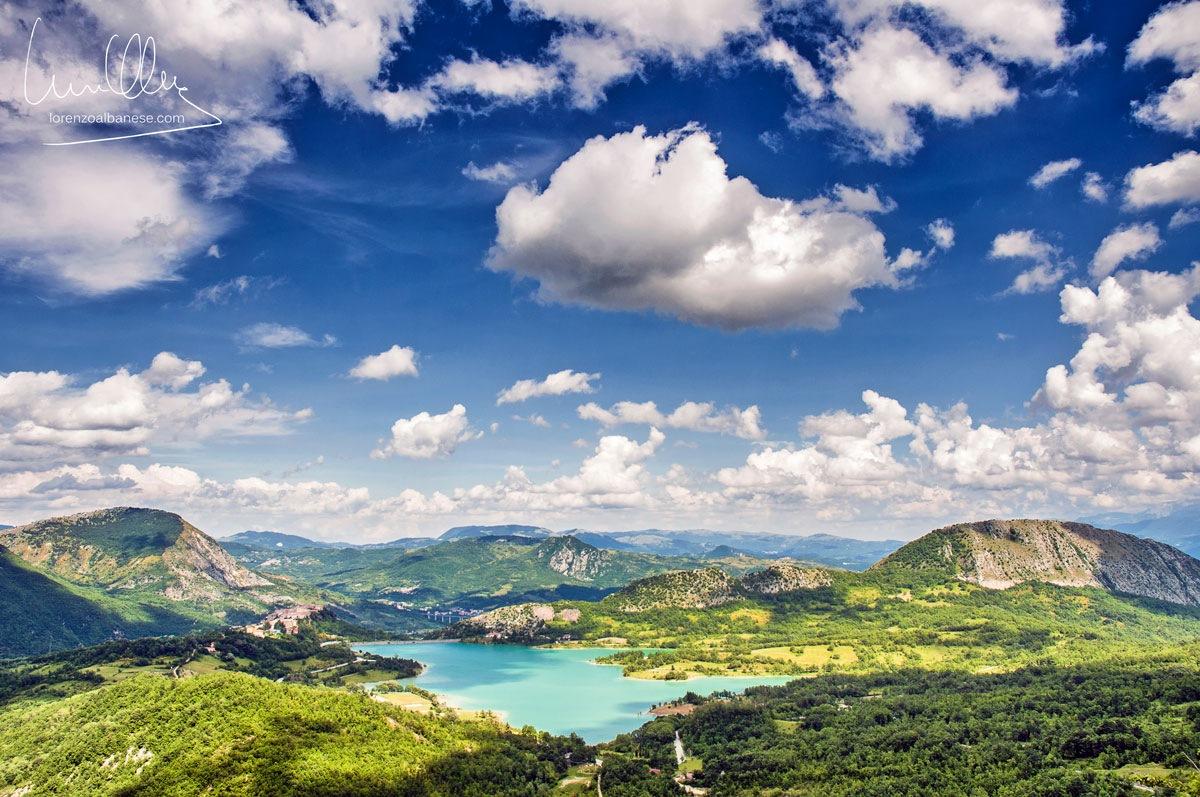 Lago di Castel San Vincenzo - Italy by lorenzoalbanesephotography