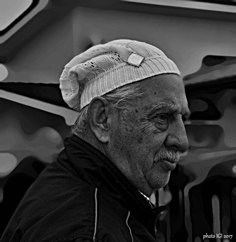 old man  by Igor Bielický