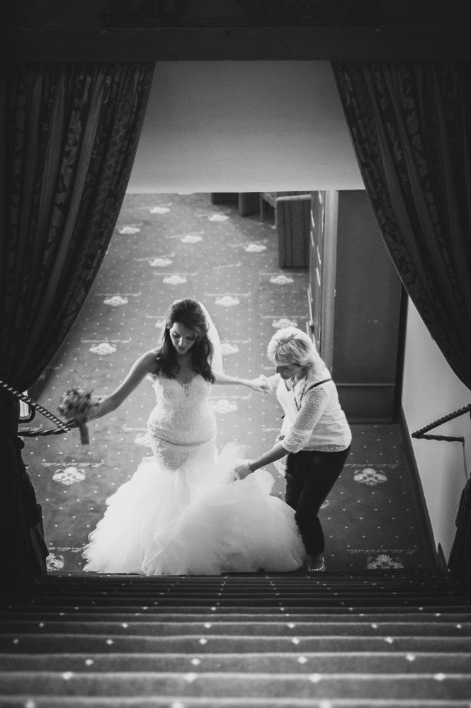 Wedding day - Amandine & Roger by Erik Svec