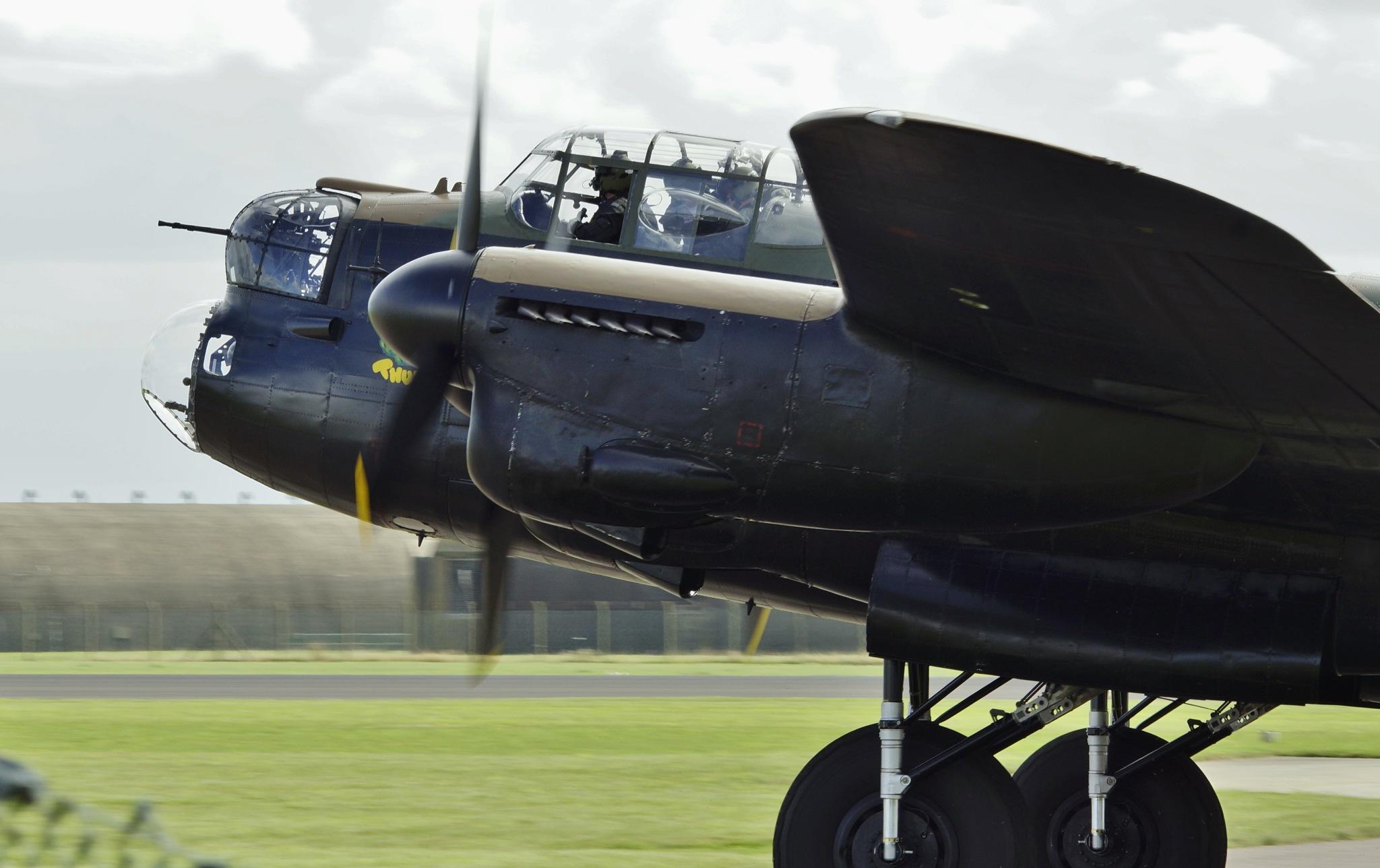 Avro Lancaster PA474 by Graeme Gibson