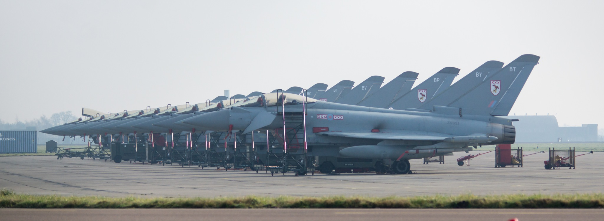 Typhoon Line Up by Graeme Gibson