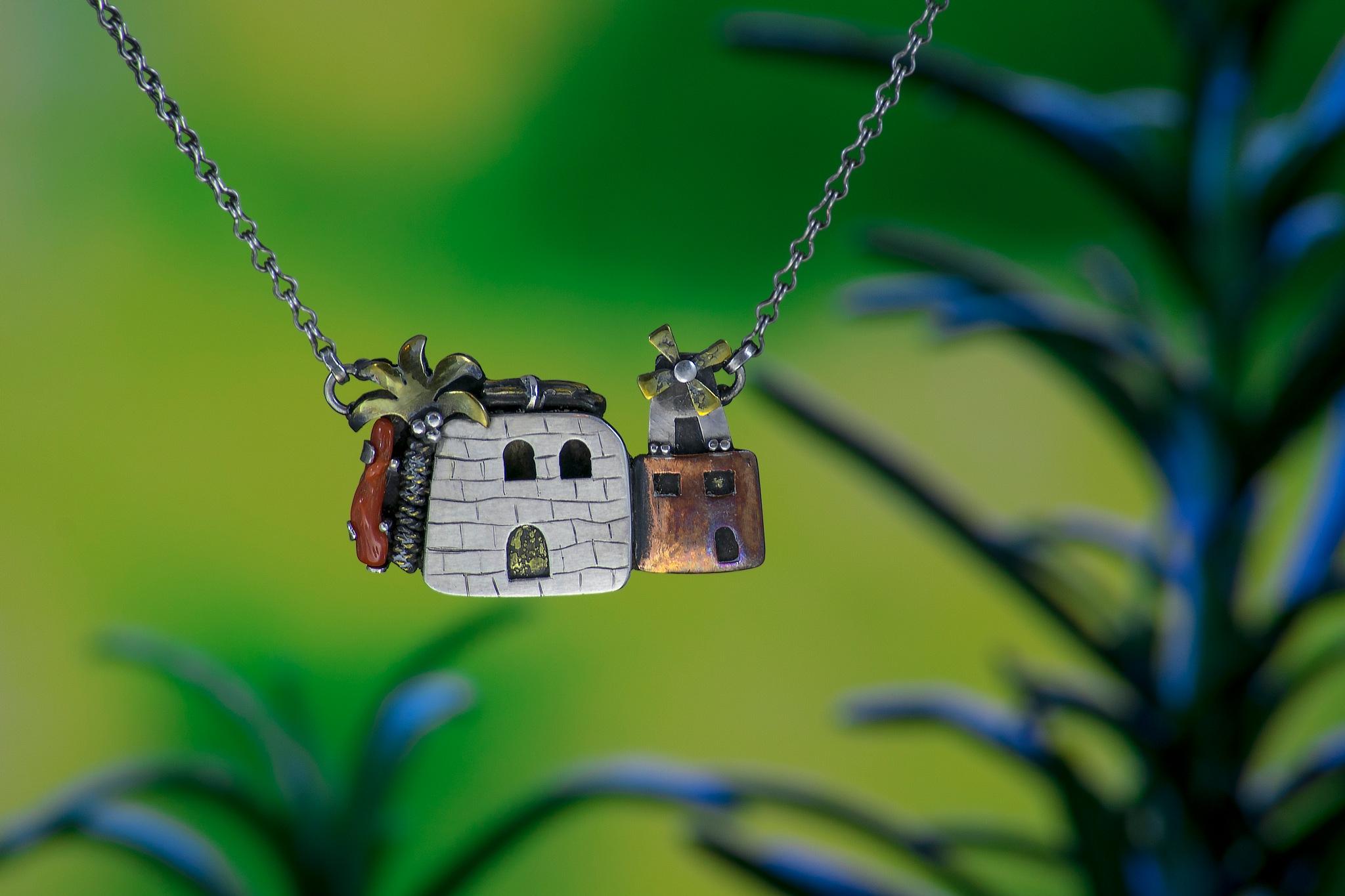 necklace by Samir Mostafa