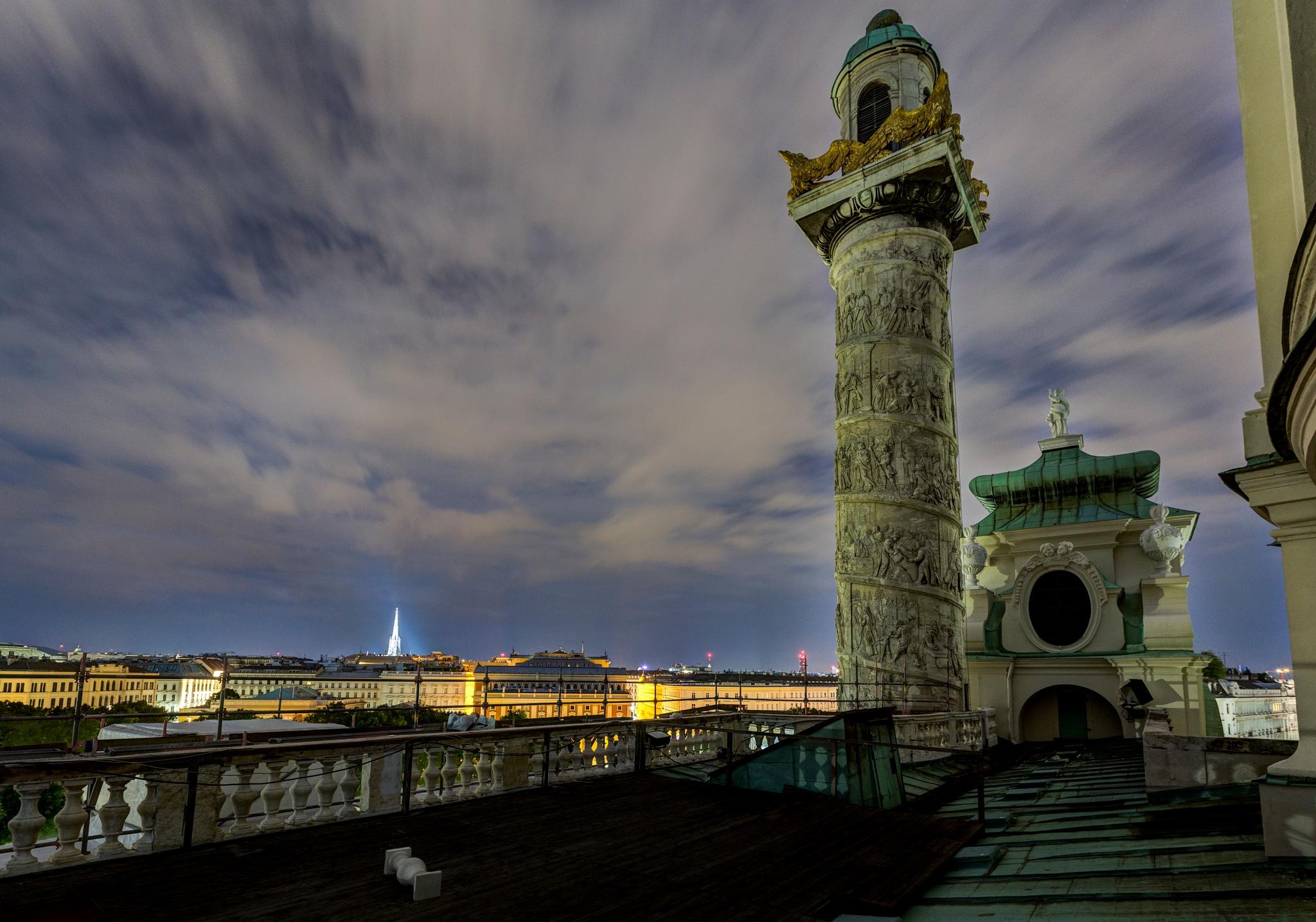top of vienna by Martin Kriebernegg