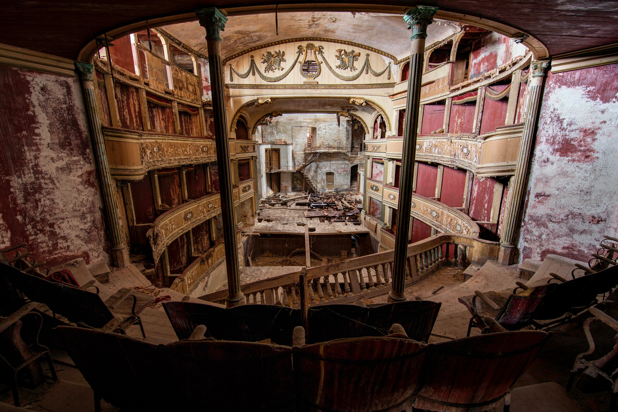 Empty spaces, what are we living for Abandoned places, I guess we know the score by Martin Kriebernegg