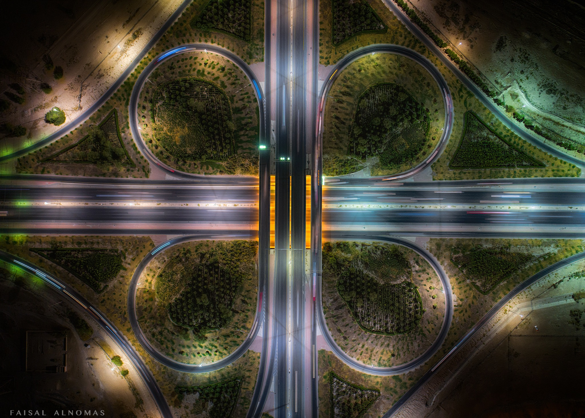 Doha Spur Motorway by Faisal ALnomas