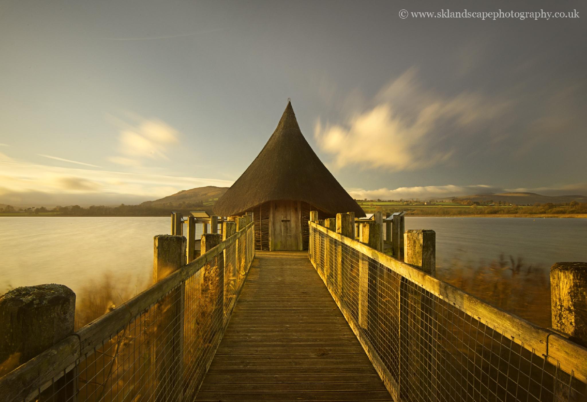 Llangorse lake by Sandra K