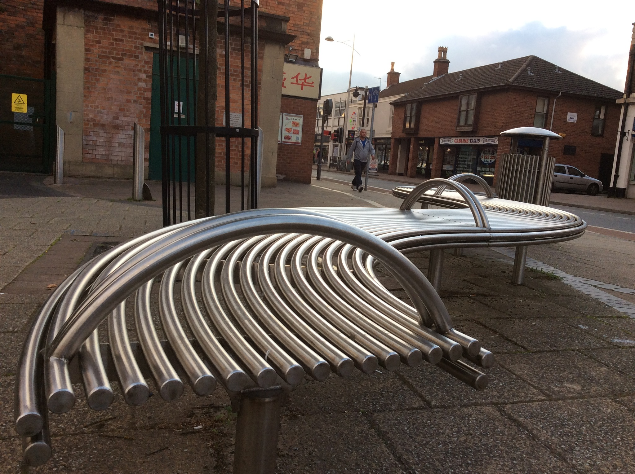 Abstract Bench 3 by simie