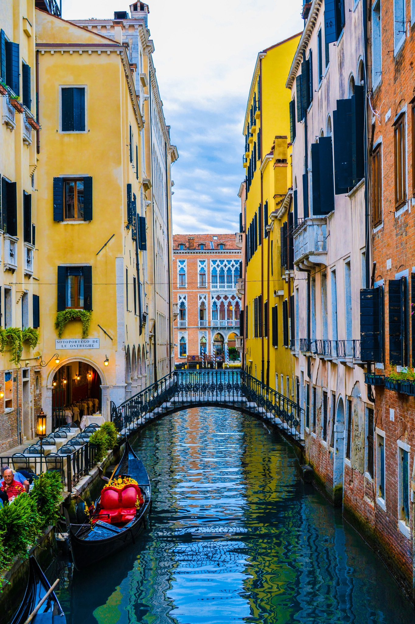 Romantic Venice Canals by simie