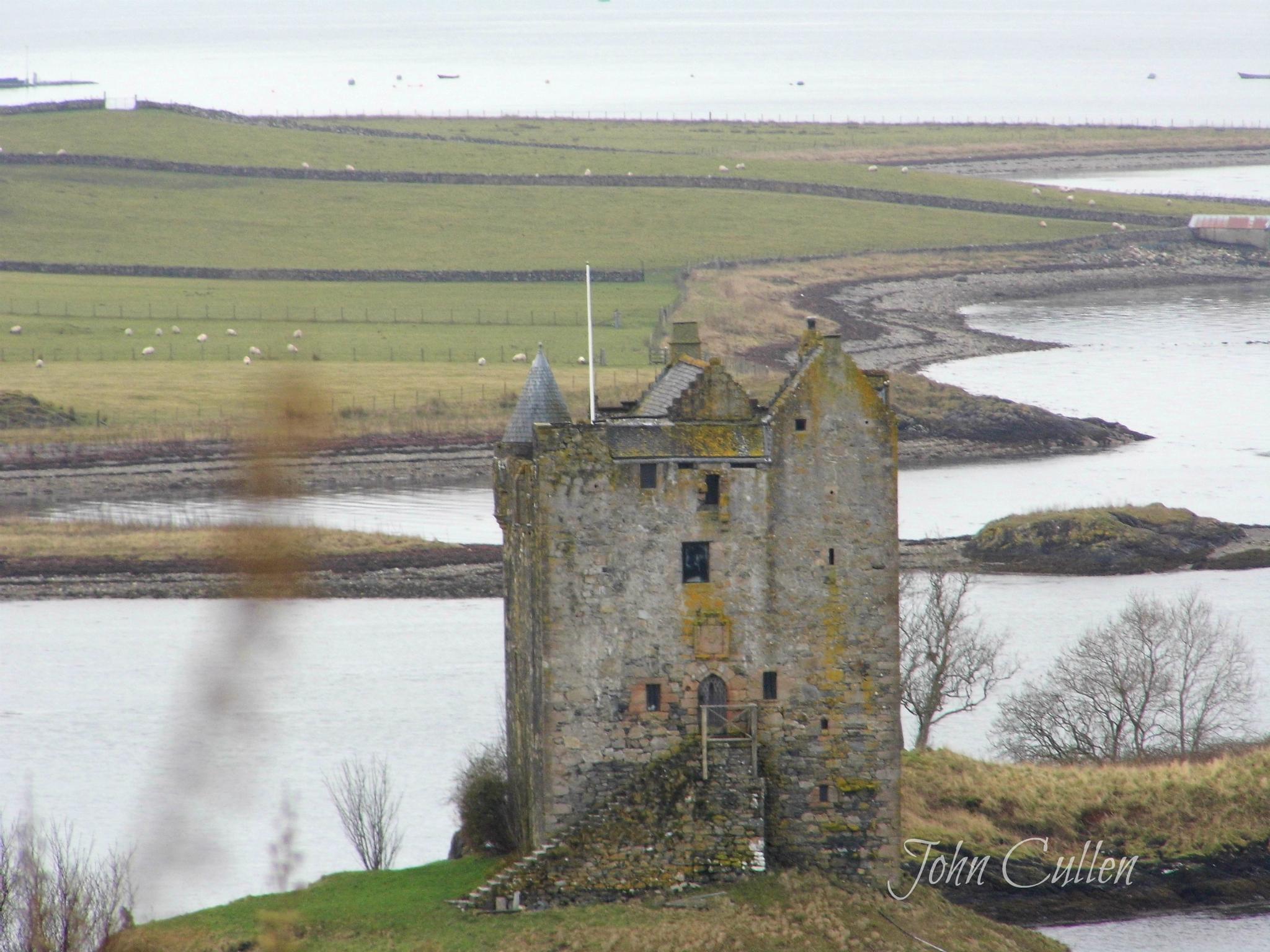 castle stalker by John Cullen