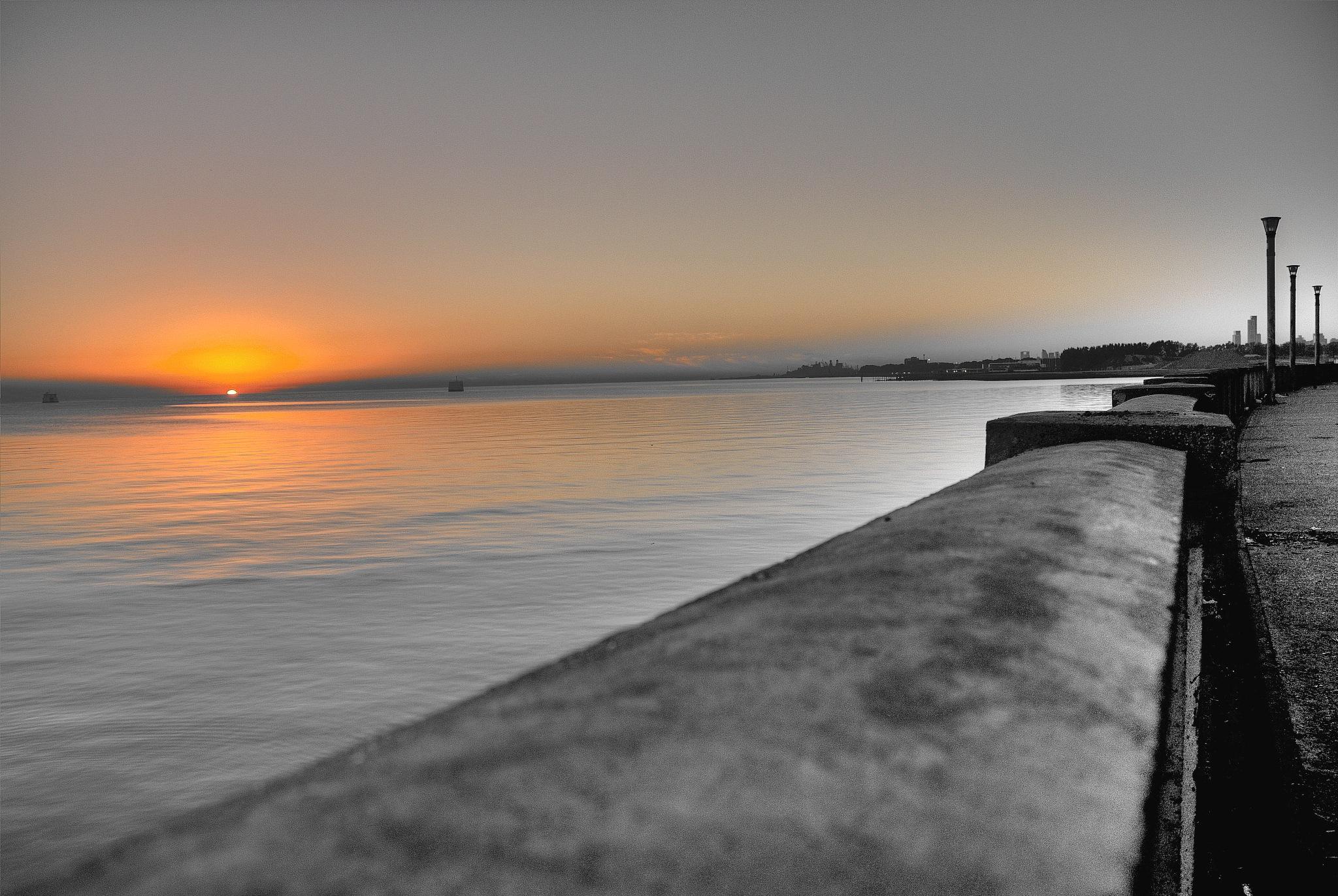 Sunrise in Buenos Aires I by Alejandro Daniel Castillo