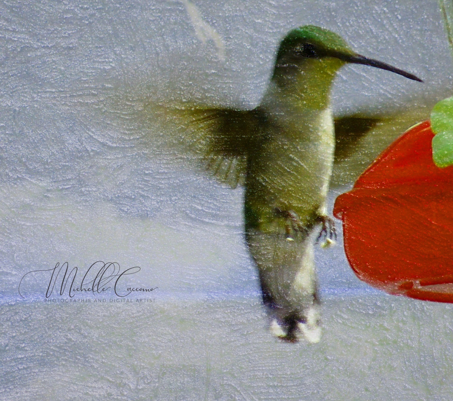 Hummer Painting by Michelle Caccomo