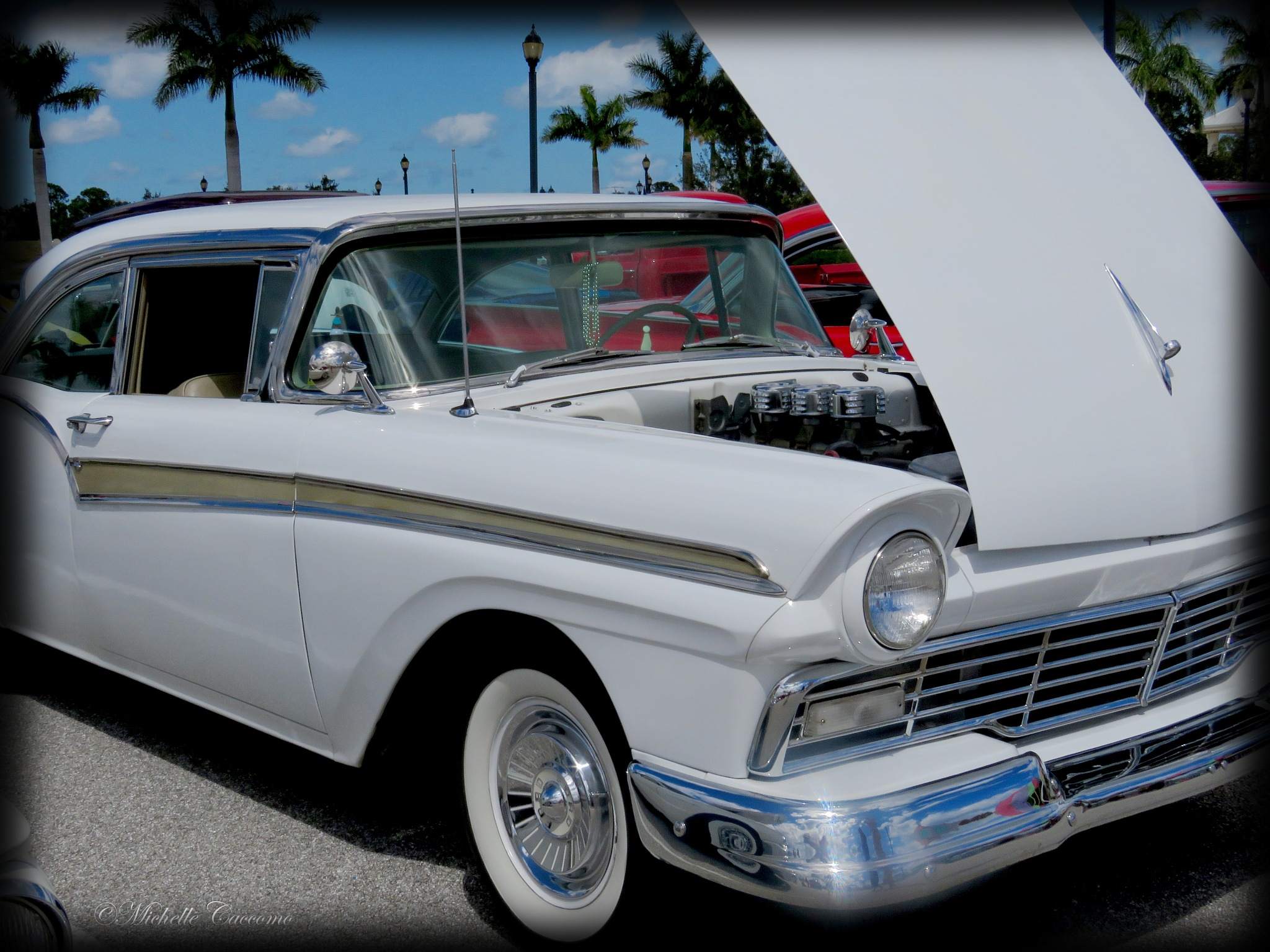 Old Ford Fairlane by Michelle Caccomo