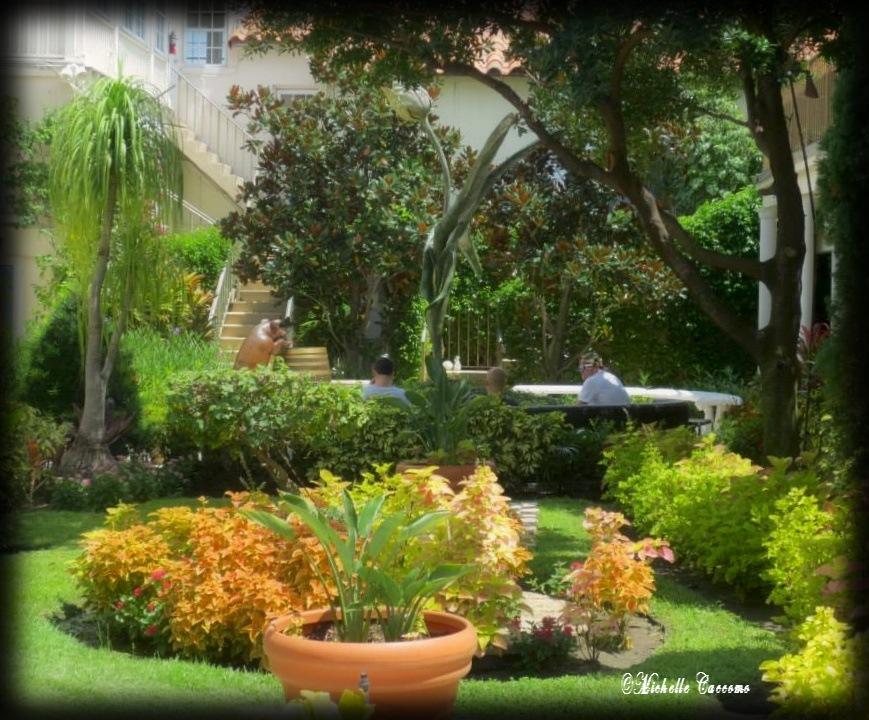 Serene Gardens by Michelle Caccomo