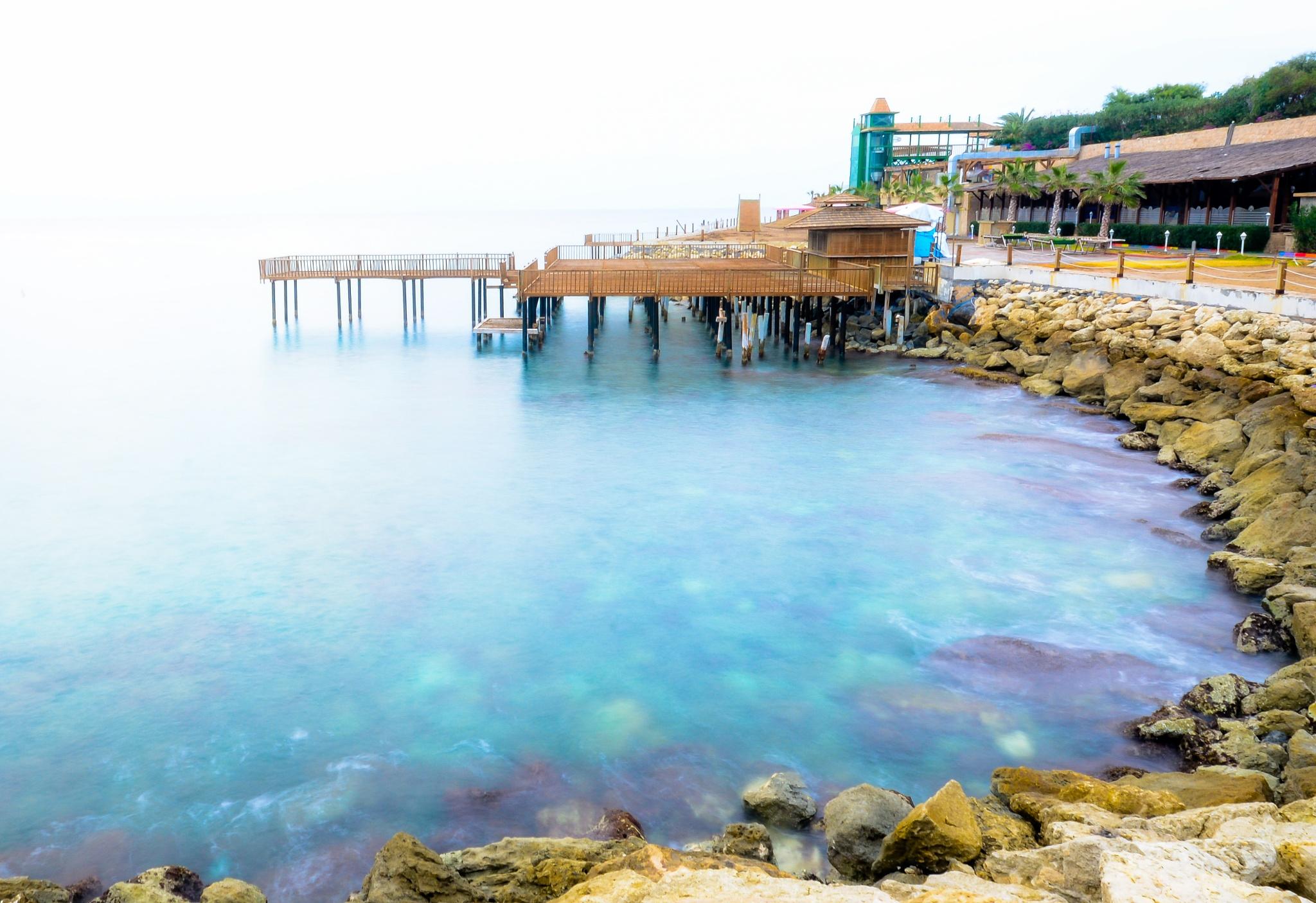 Deep in blue by baybora