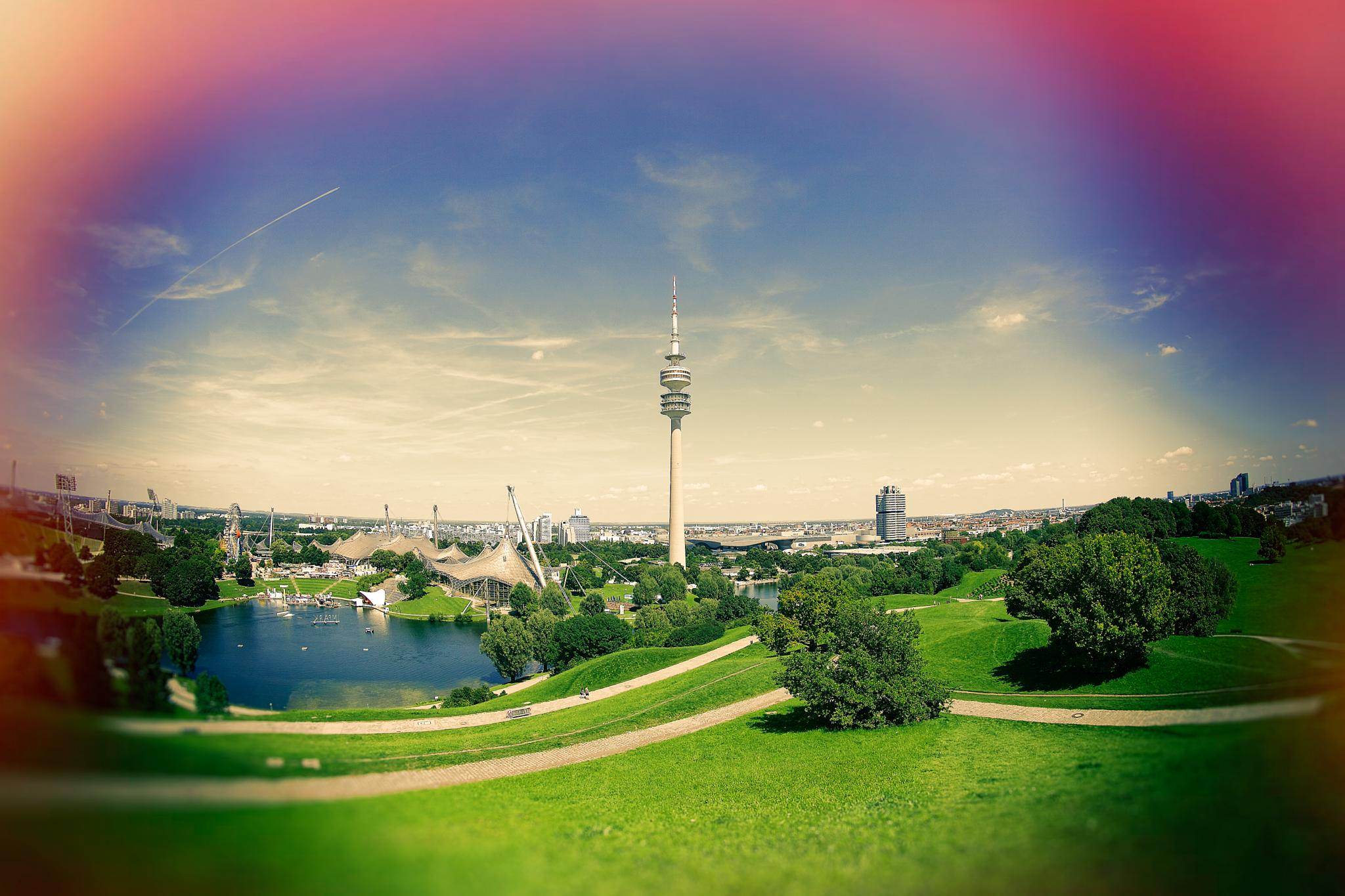 Munich Olympic Park by Phillipp rnold