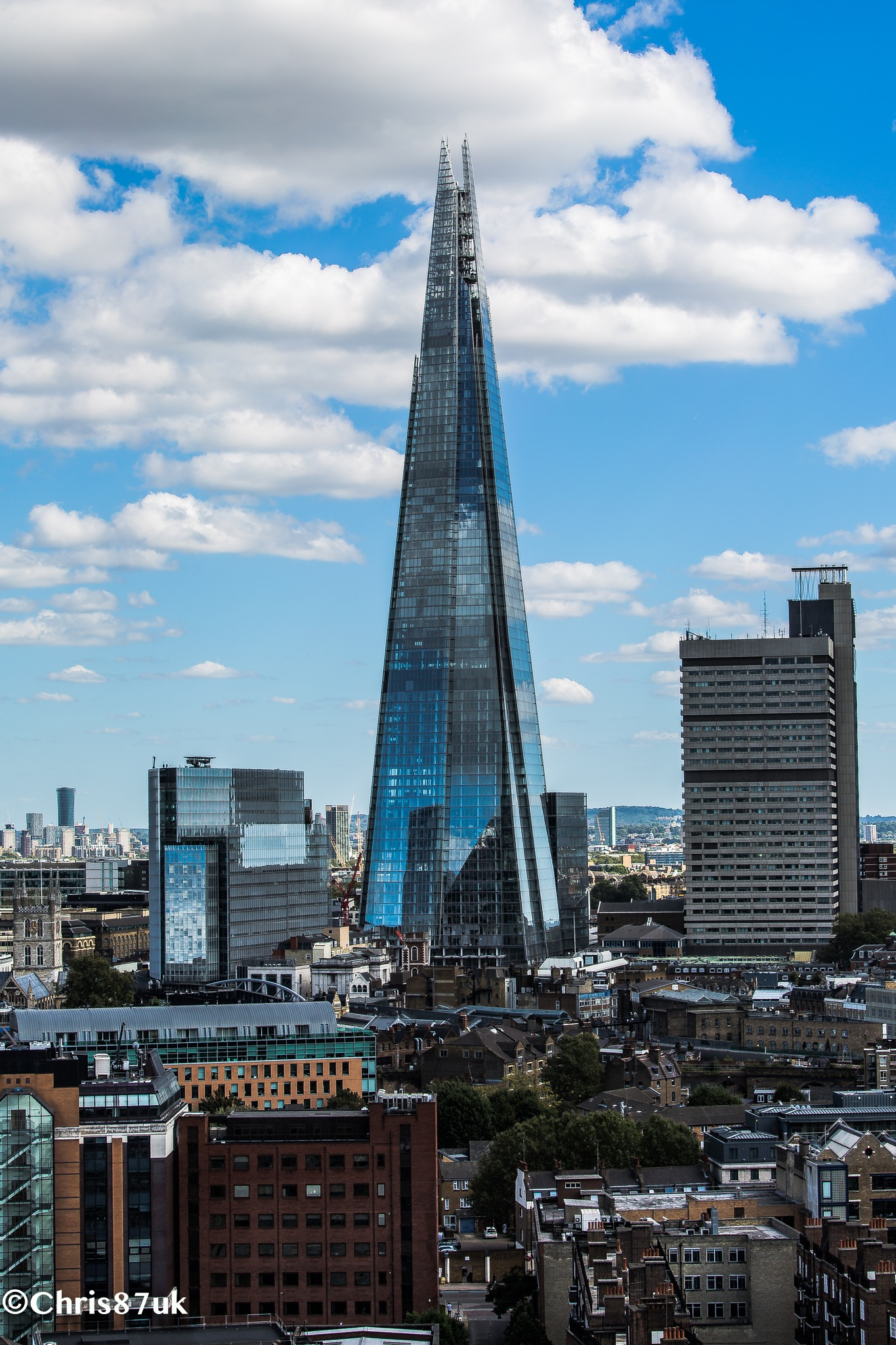 The Shard from the Tate Modern by Chris Walker