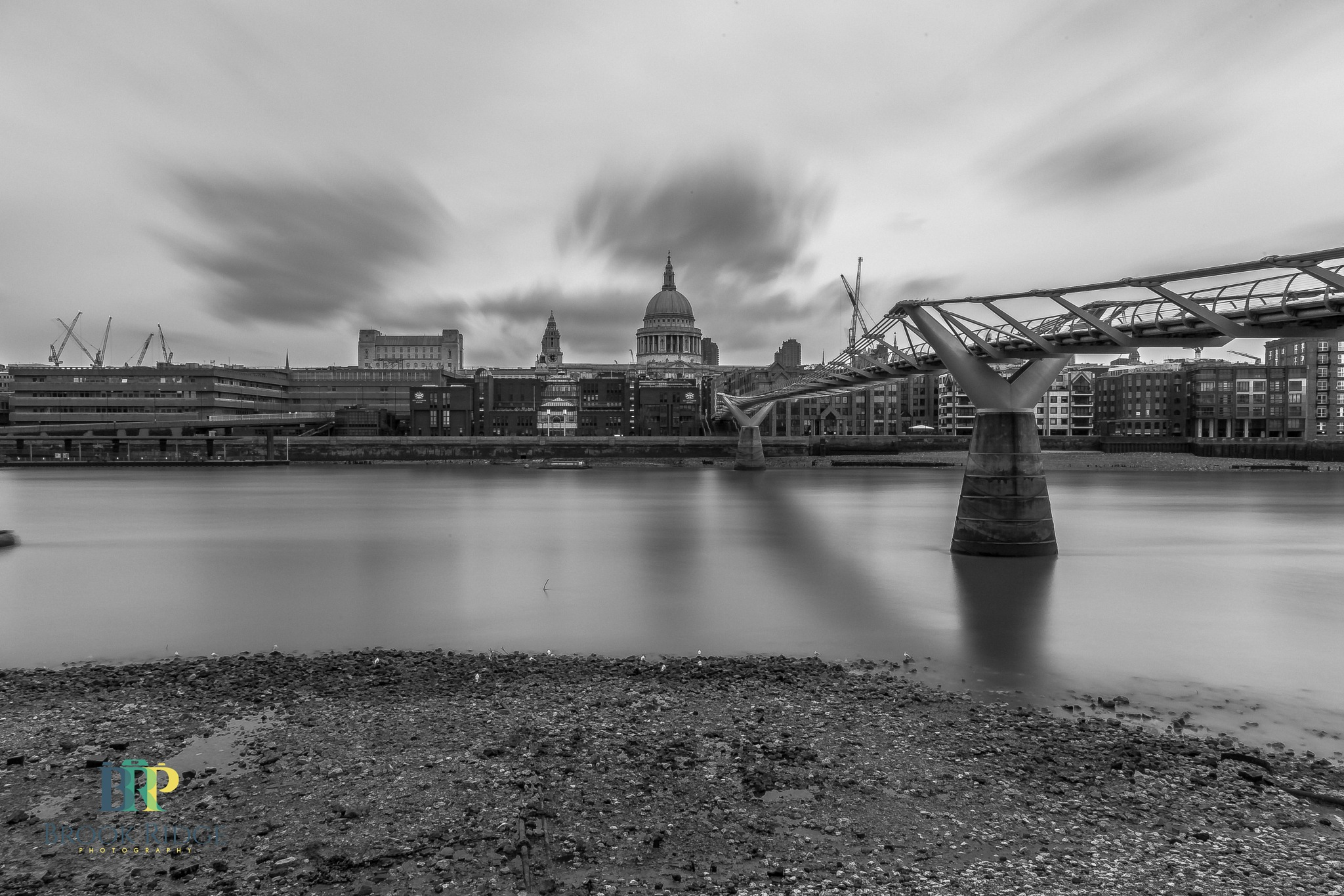 St Paul's On a Grey Day by Chris Walker