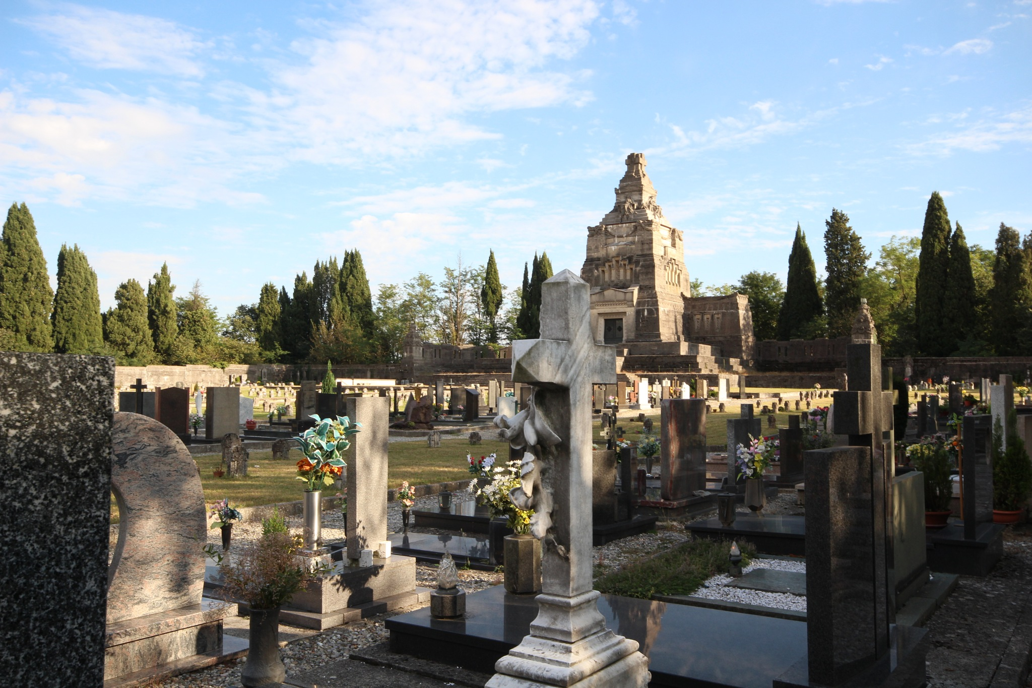 Monumental Cemetery of Crespi d'Adda by Giuseppe Criseo