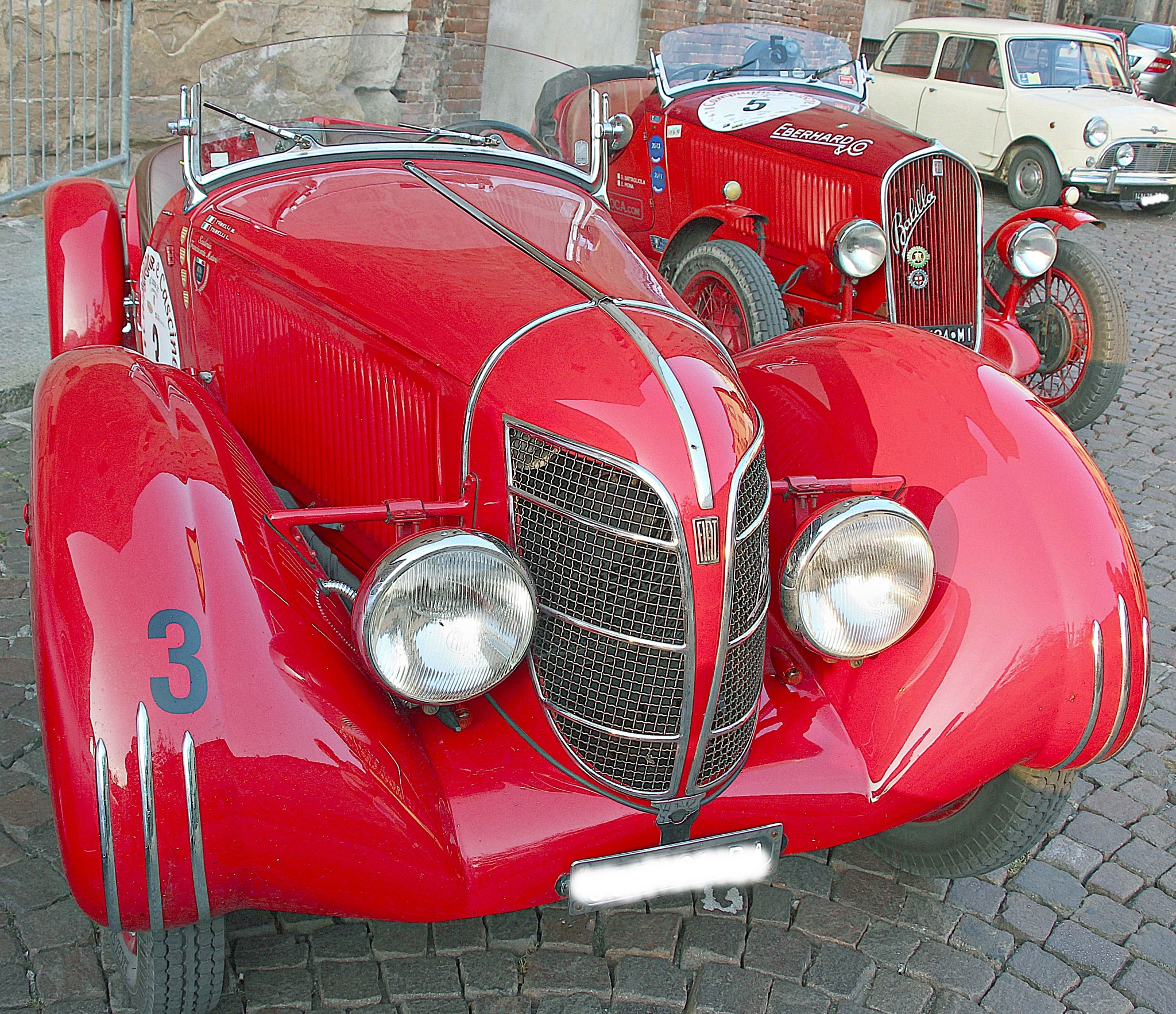 Vintage car trophy in Cremona by Giuseppe Criseo