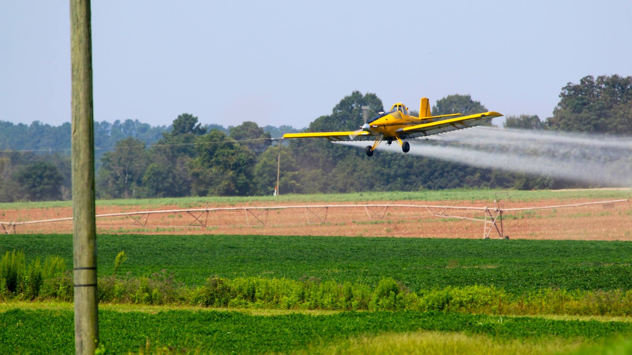 crop dusting in Georgia by Keyaurisdad