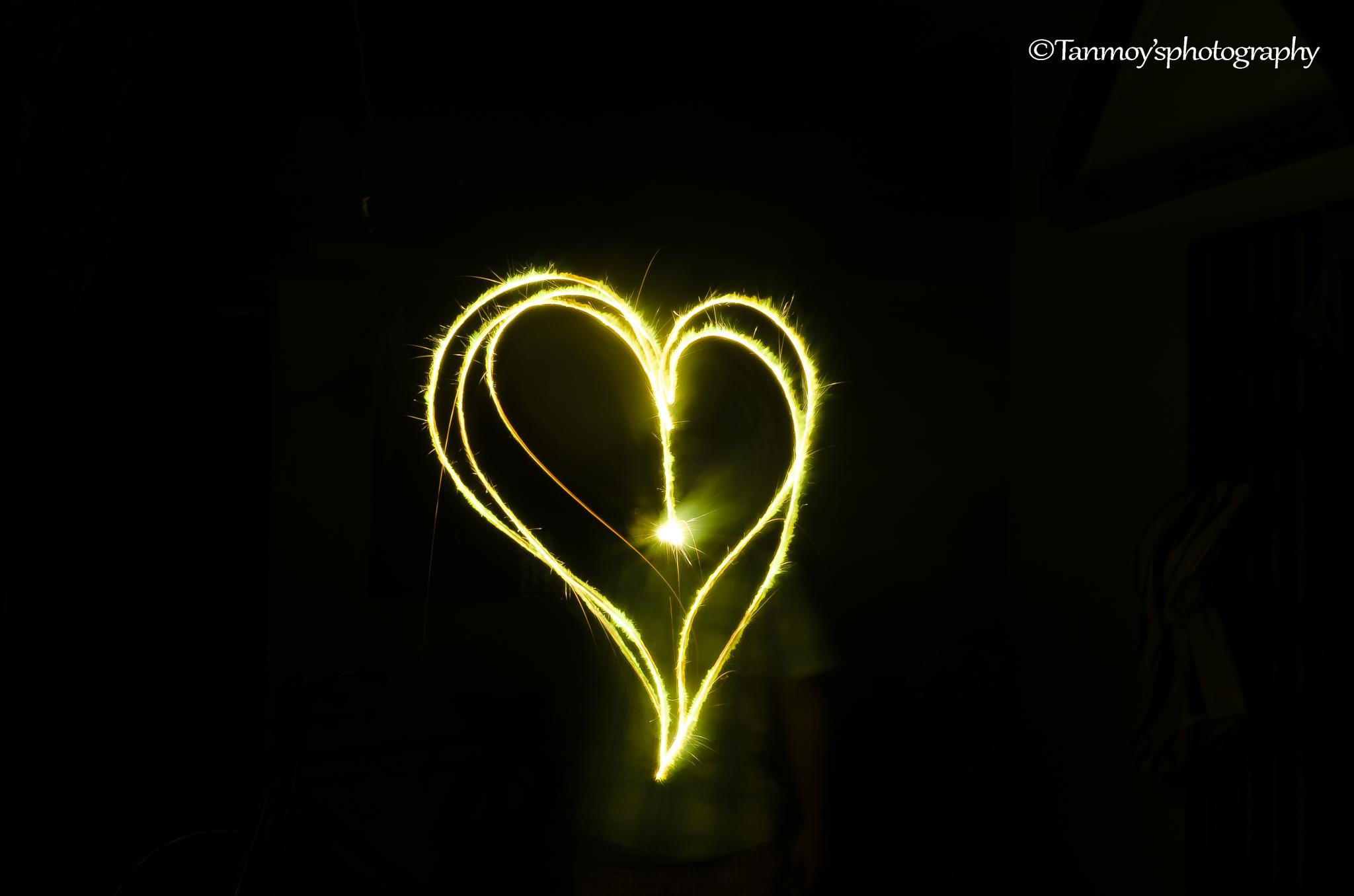 Light painting by Tanmoy Adhikary