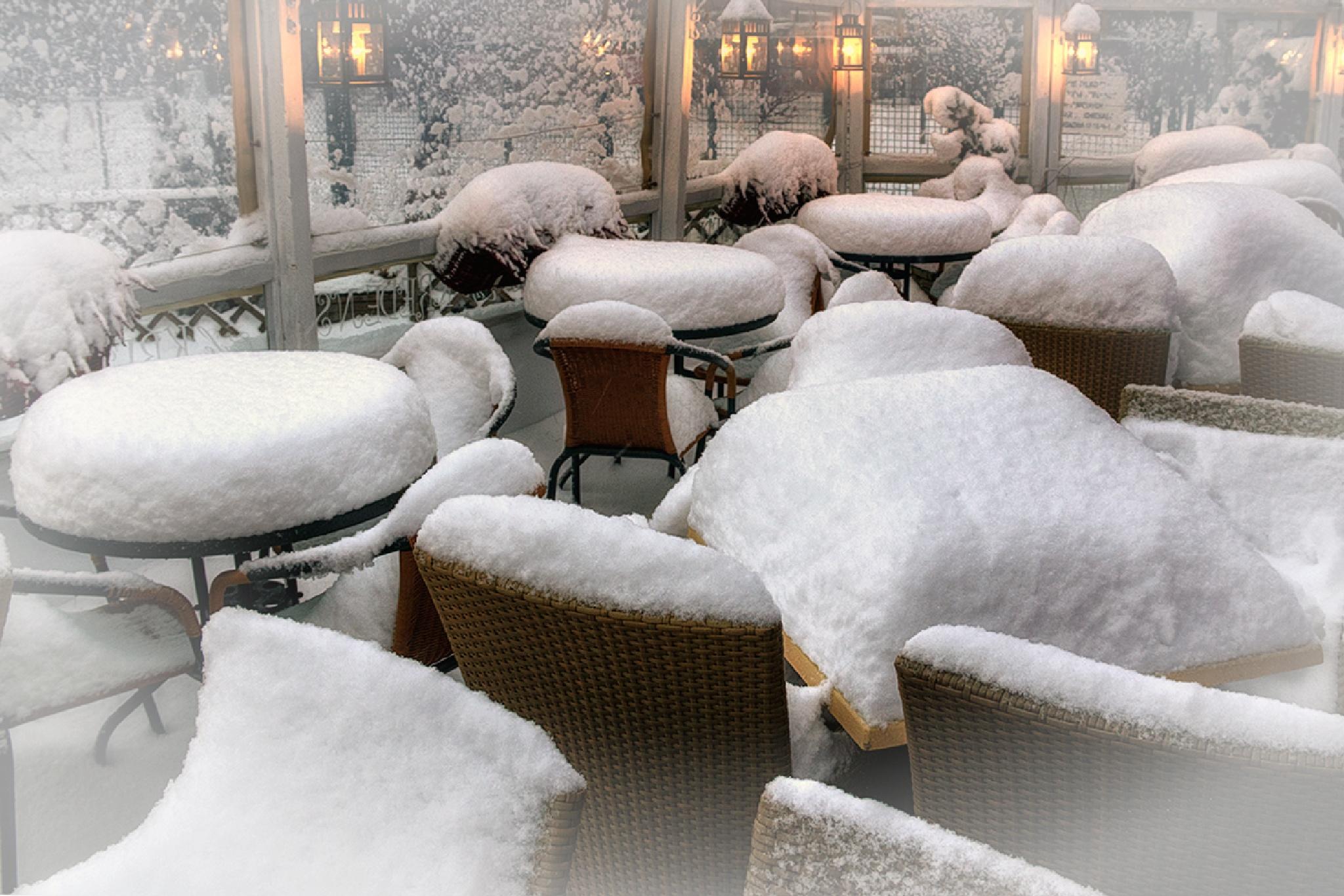 Zimowa tapeta.... by zbych41