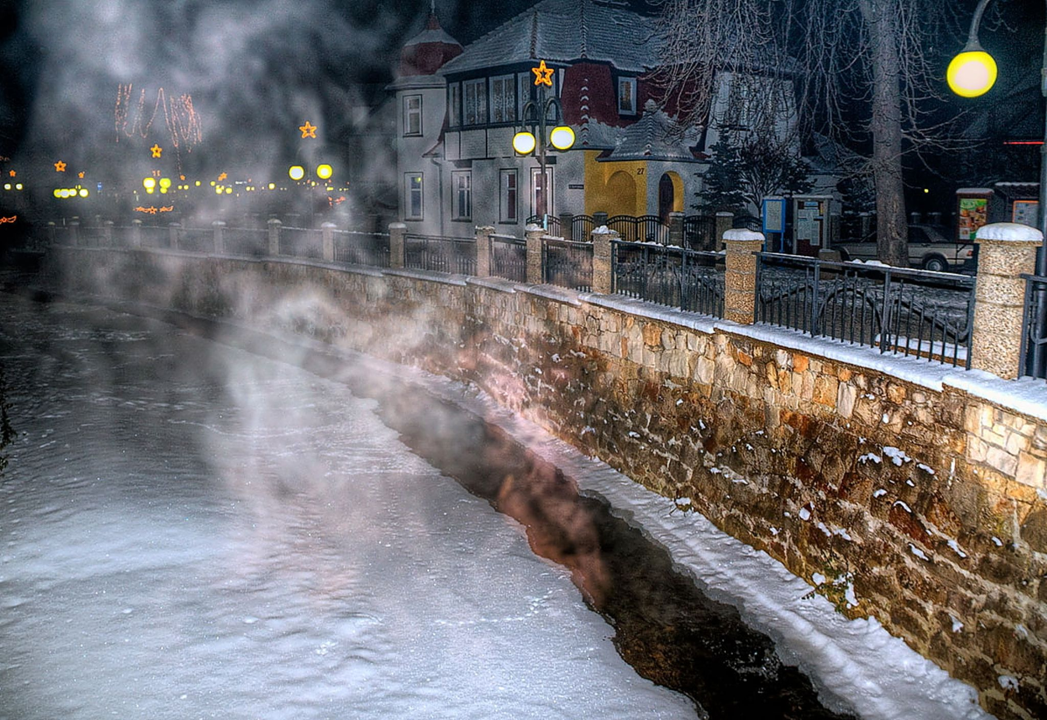 Winter in the lens -20C by zbych41