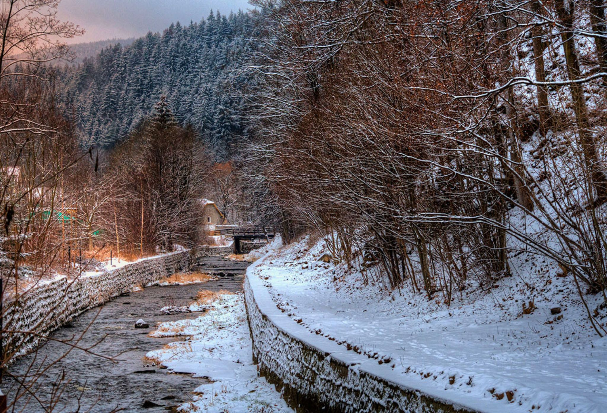 Winter in the lens by zbych41
