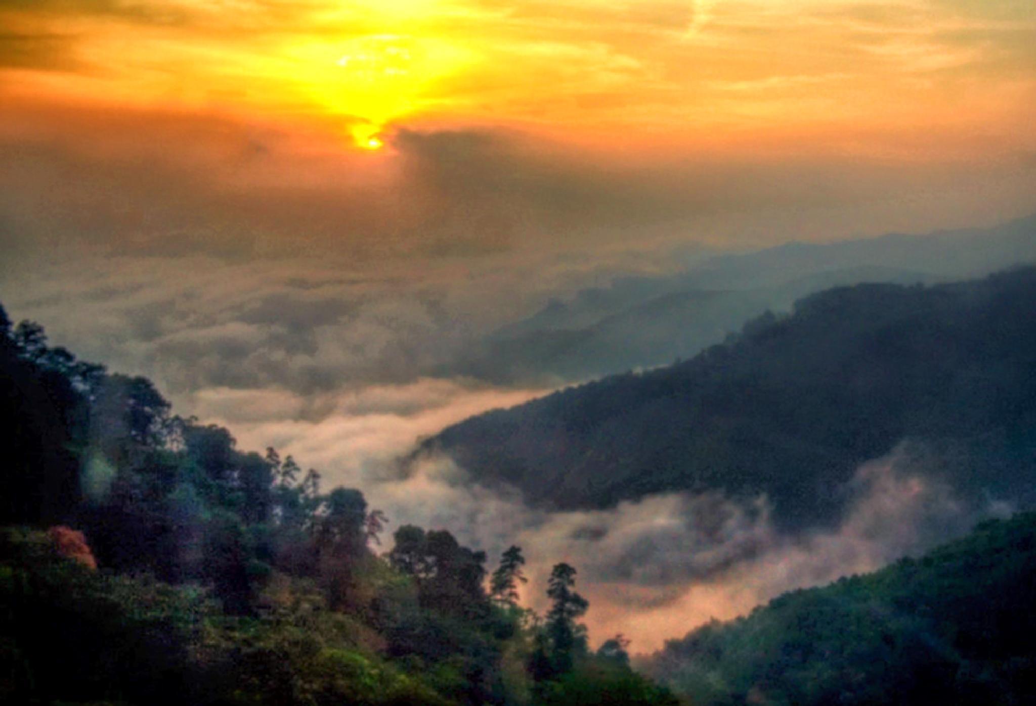 ZAchód słońca w górach by zbych41