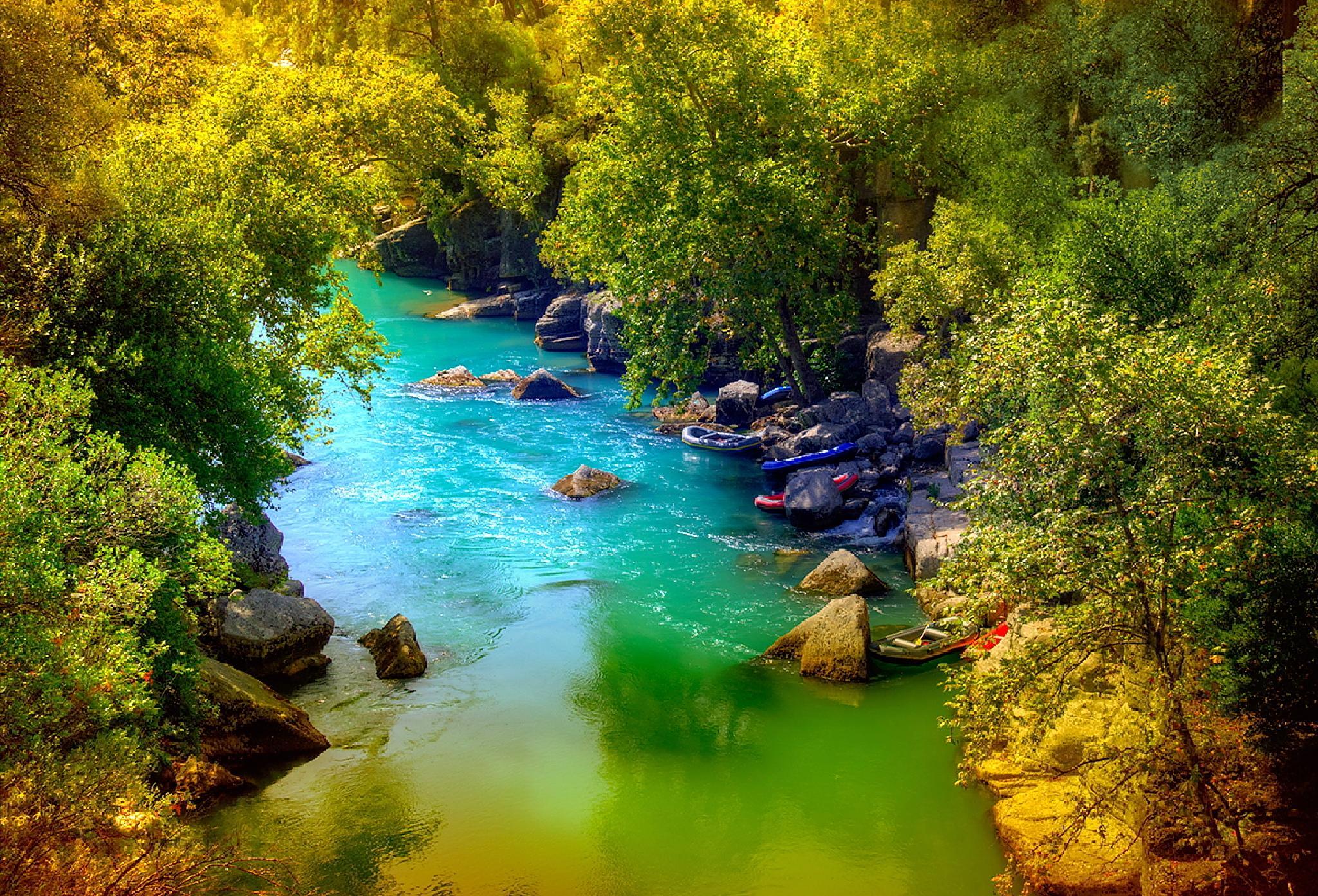 Rafting - spływ pontonem górską rzeką  by zbych41