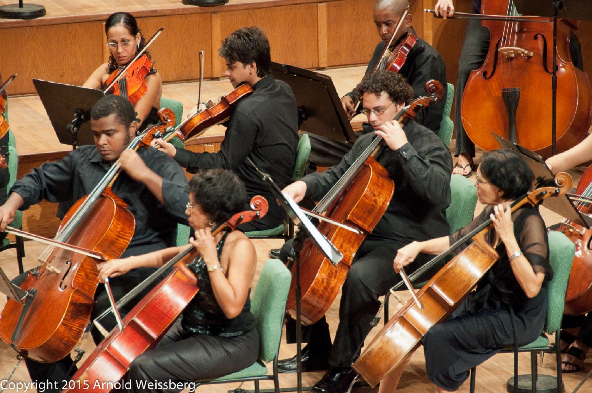 National Symphony Orchestra, Havana by arnold weissberg