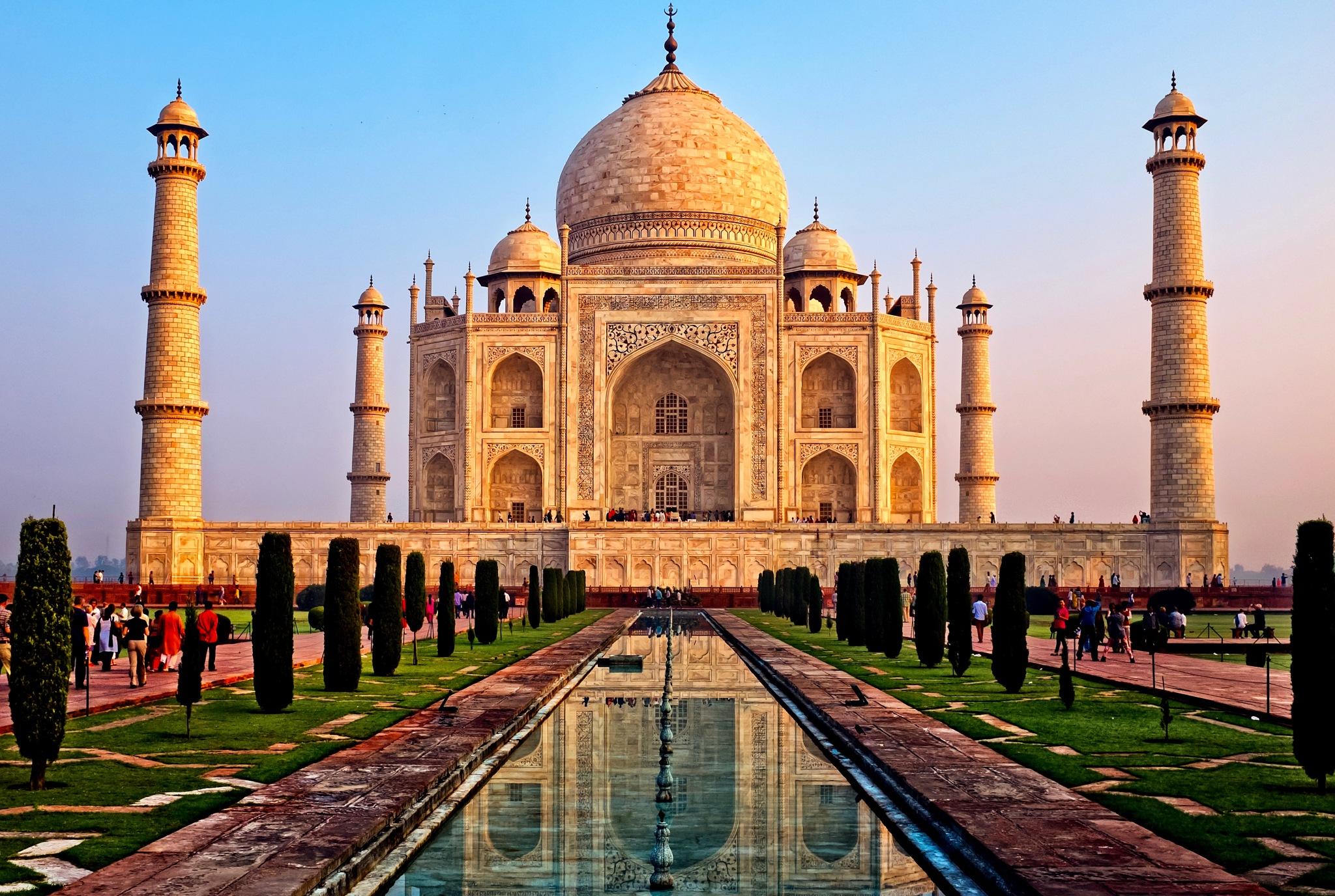 Photo in Architecture #taj #taj mahal #agra #india #architecture #history #sunrise