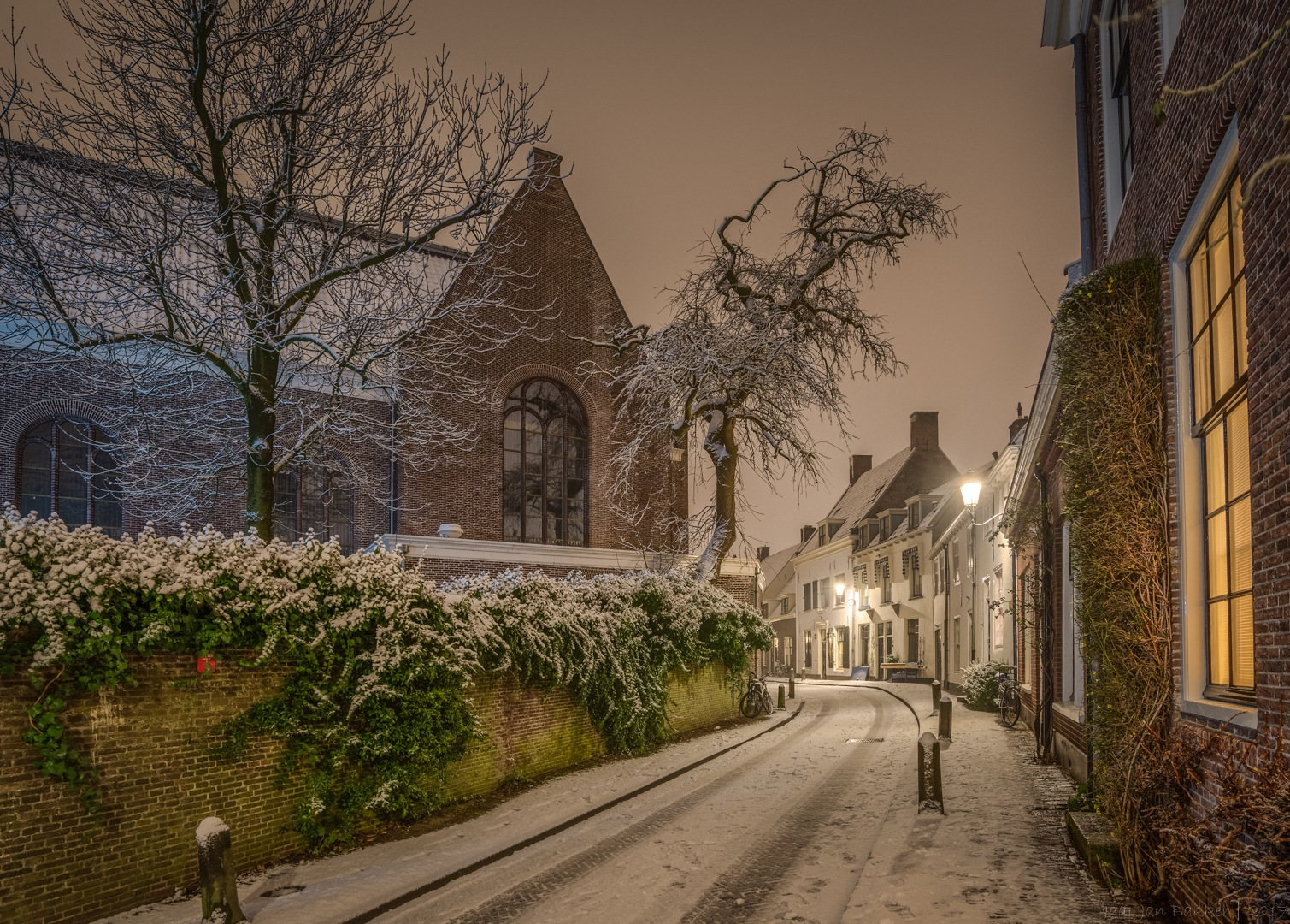 Winter in Amersfoort by Jaap Jan Bakker