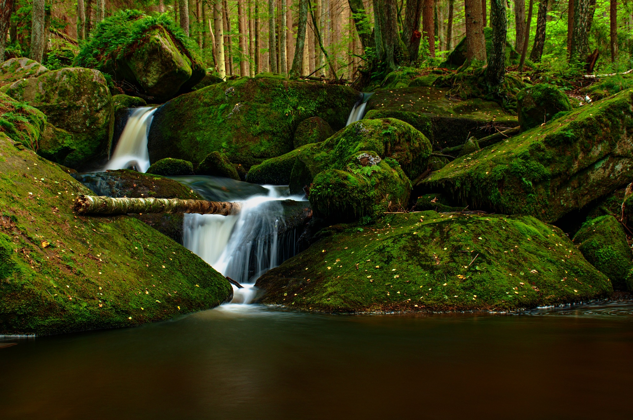 Wolfgang's waterfalls V. by CARRADORE