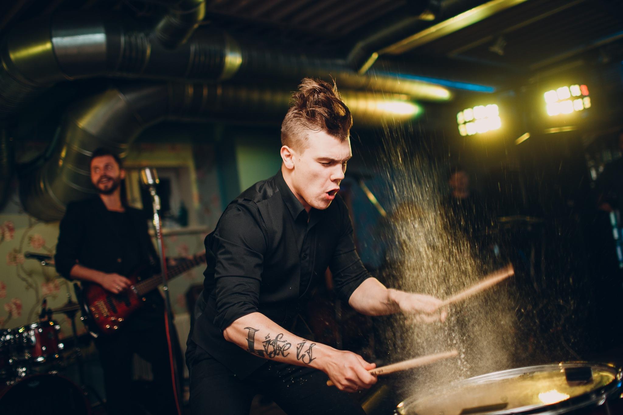 Drummer by atercorv