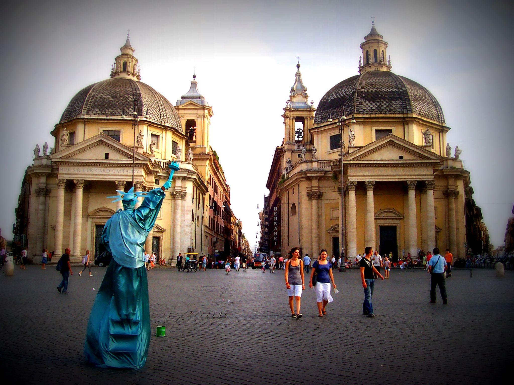 Piazza del Popolo by Deena Roth