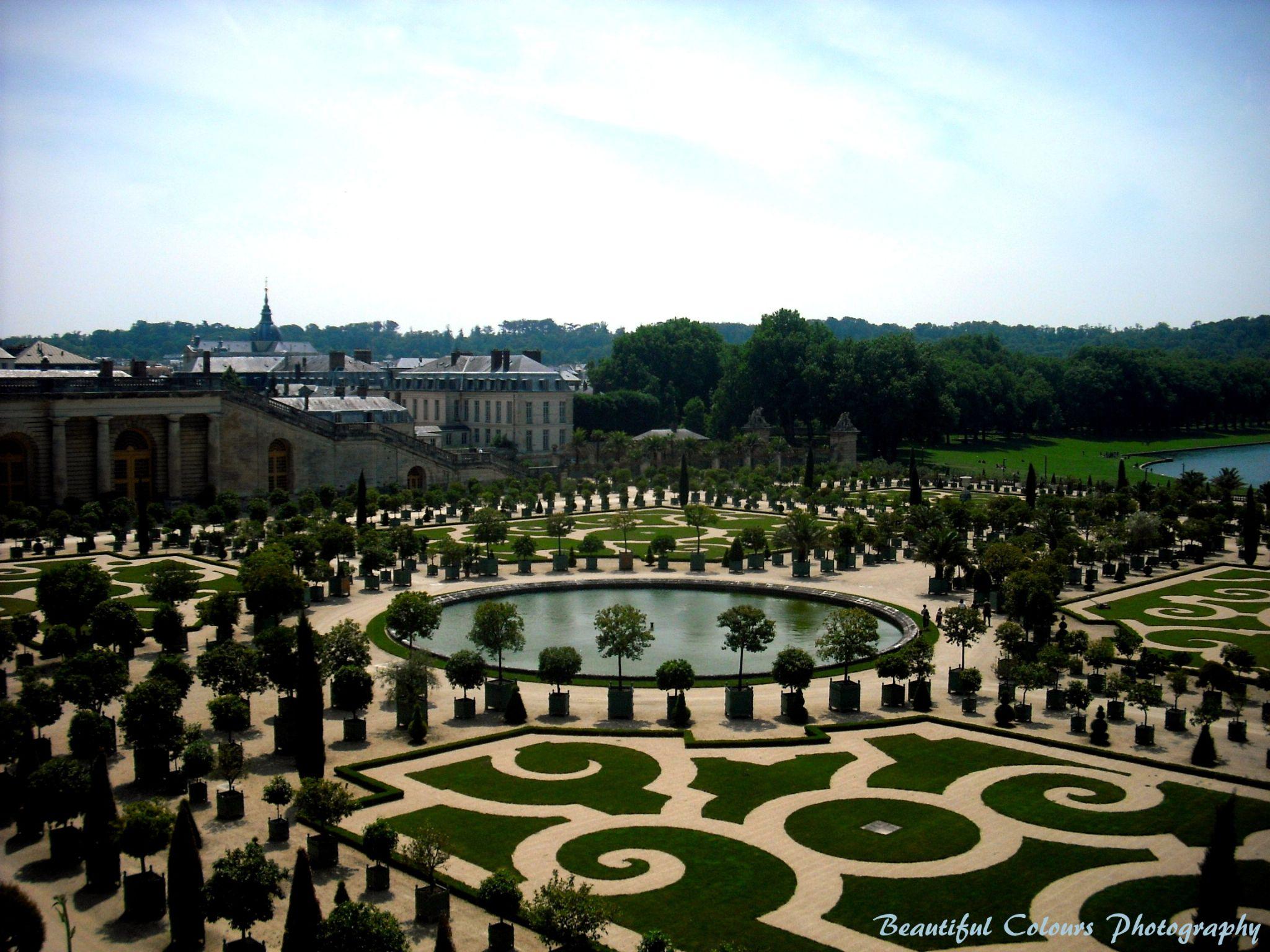 Jardins de Versailles by Deena Roth