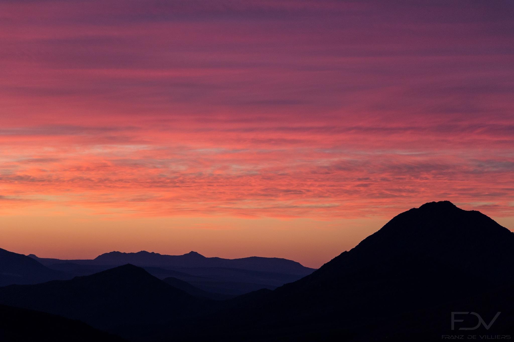 Cederberg Sunset 2. by franzdev