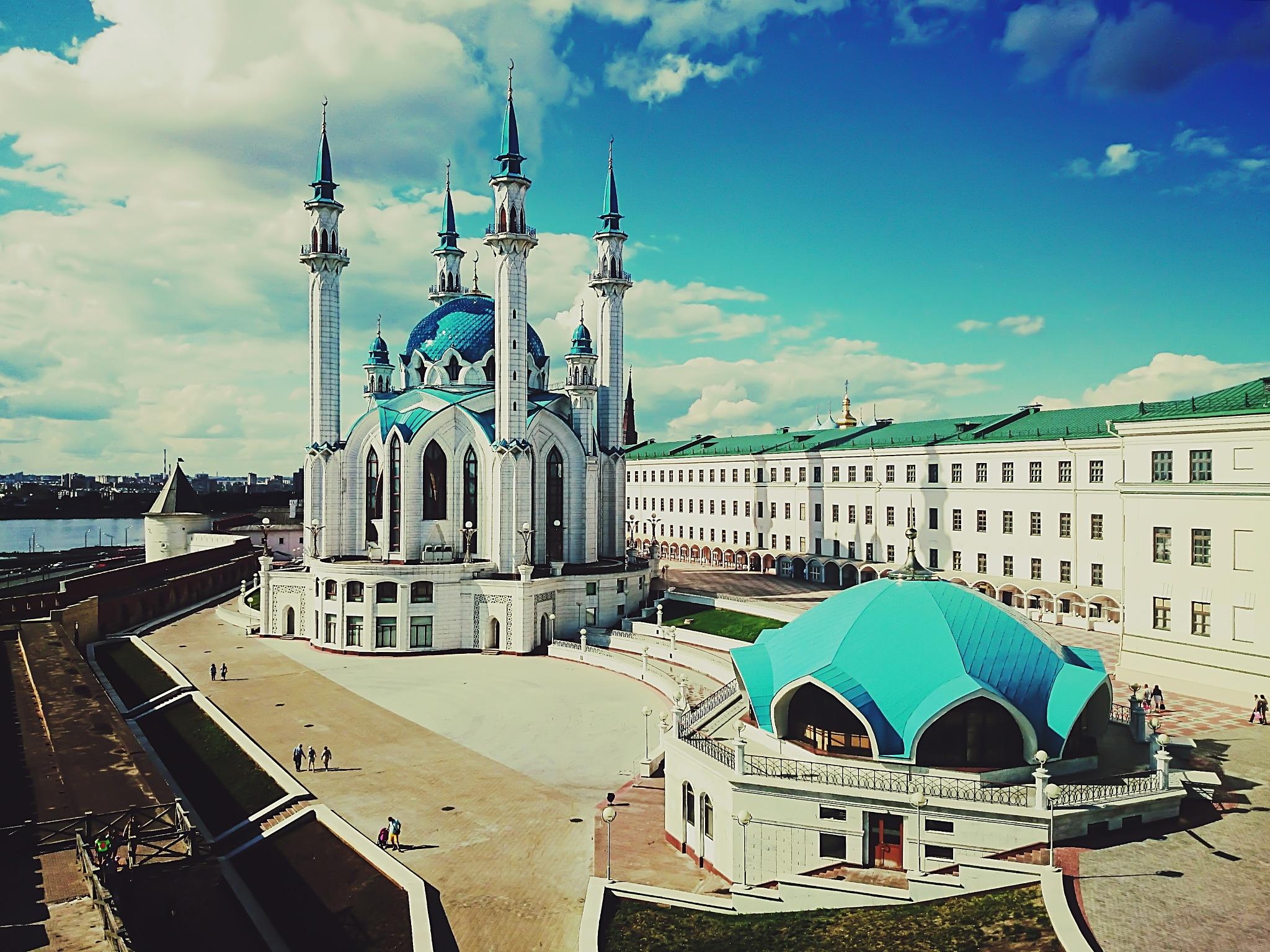 The Qolşärif Mosque by Daria Klepikova