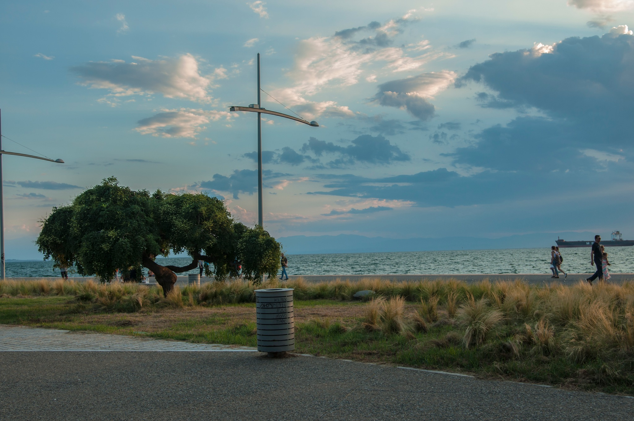 The sea front of Thessaloniki. by Kathrine Anna