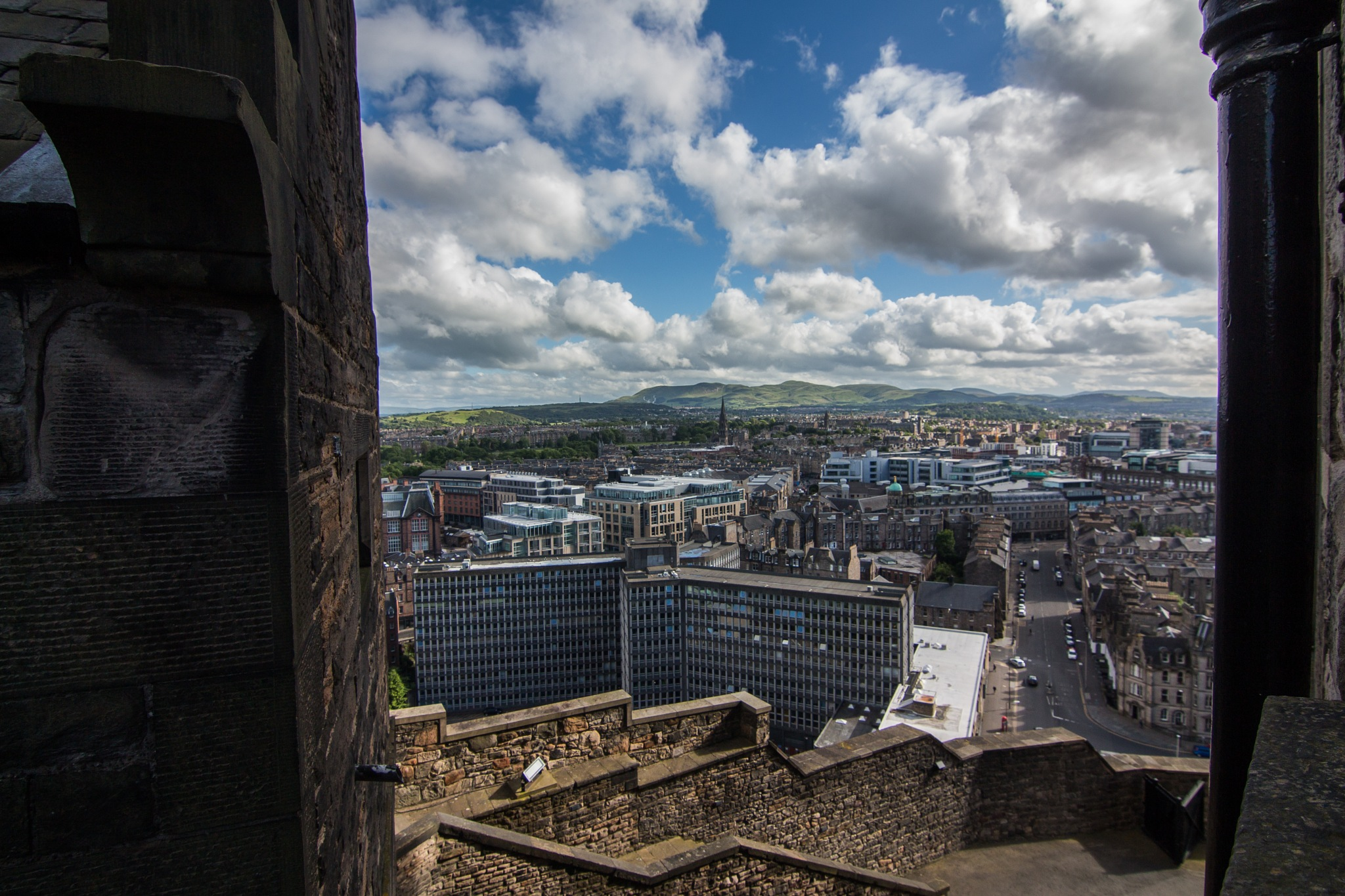 View from the Castle Walls by Ben V