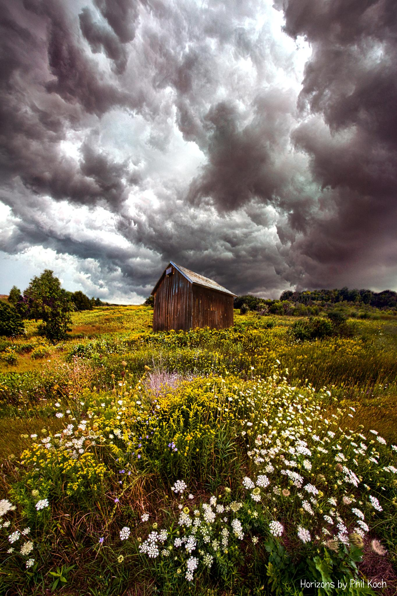 Storms of Bygone Summer Days by PhilKoch