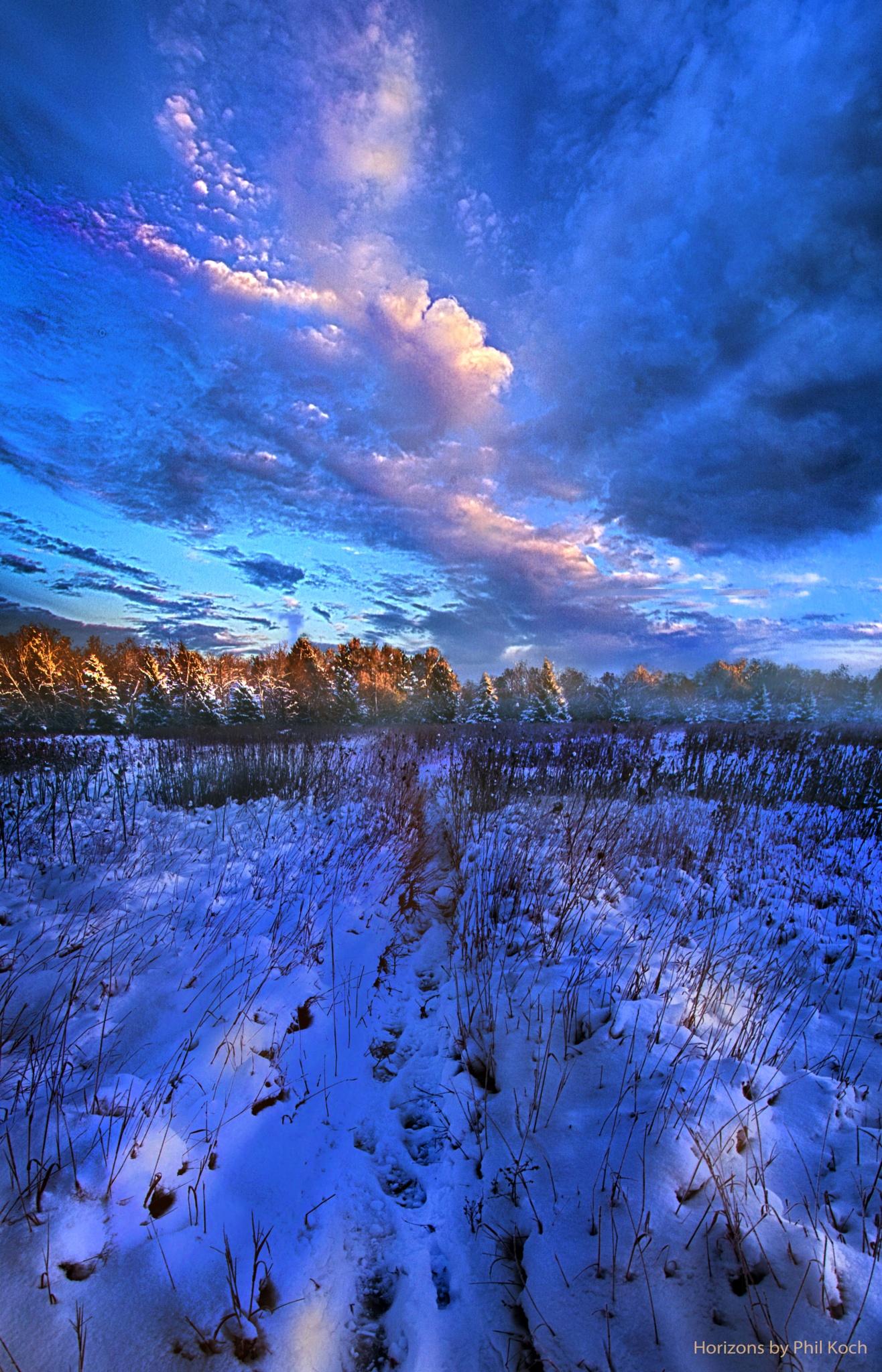 Cool Blue North by PhilKoch