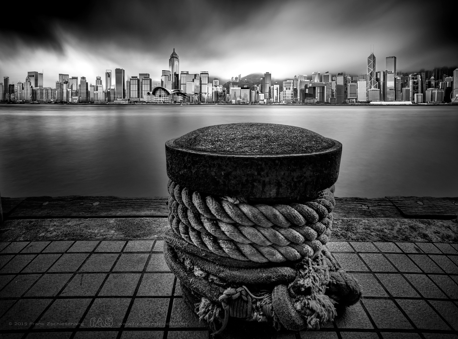 Bound to a skyline by Frank Zschieschang