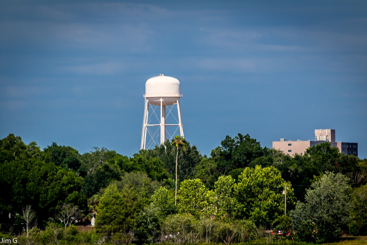 Water Tower by Jim Graham