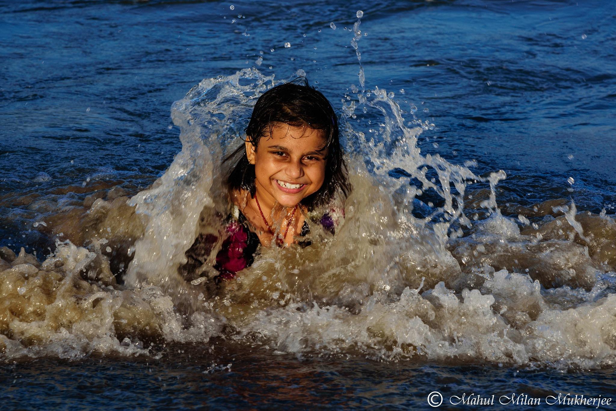 Happy moment... by Mahul milan Mukherjee