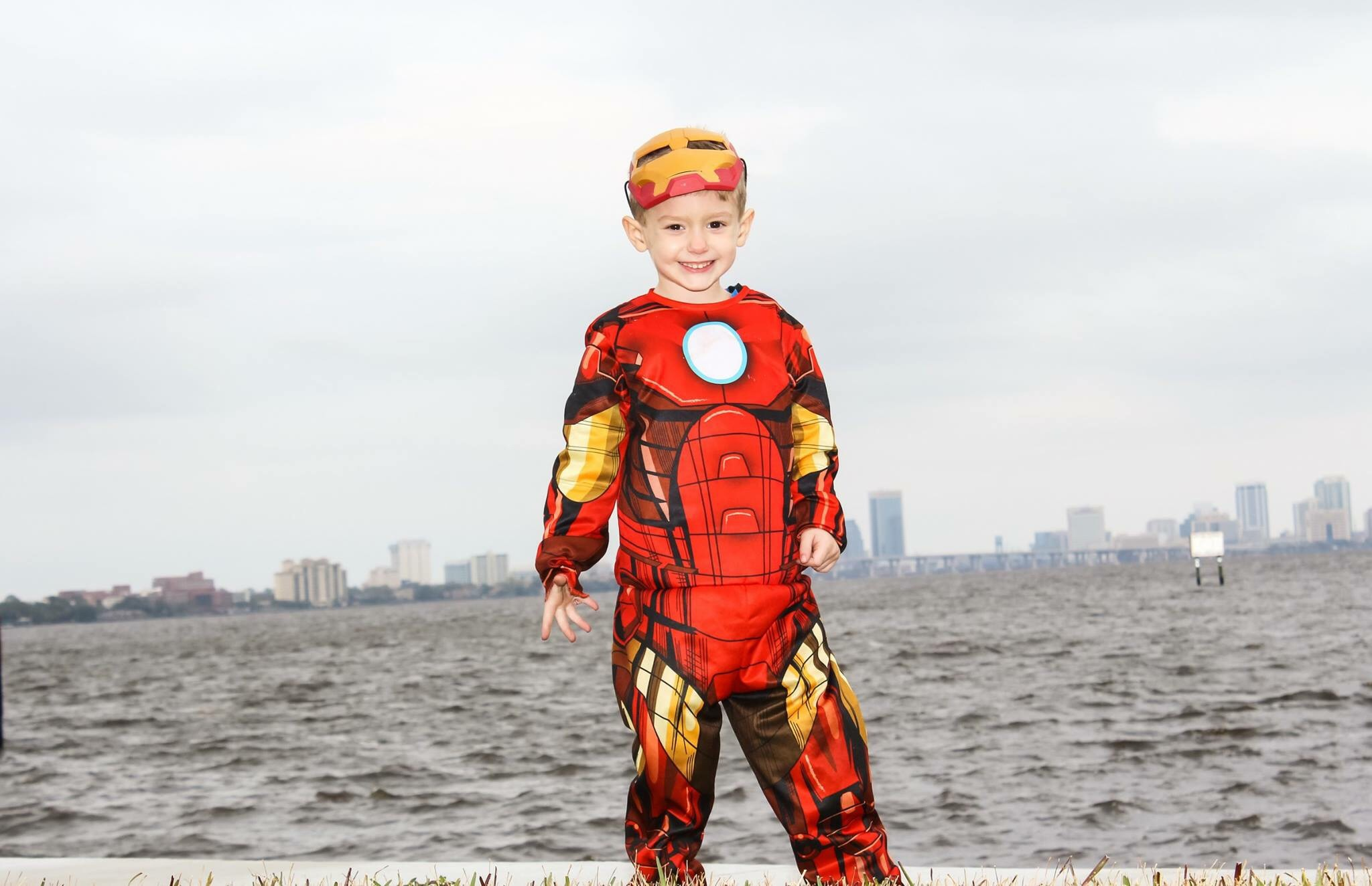 This little super hero turned 4!  by D&R's Captured Moments